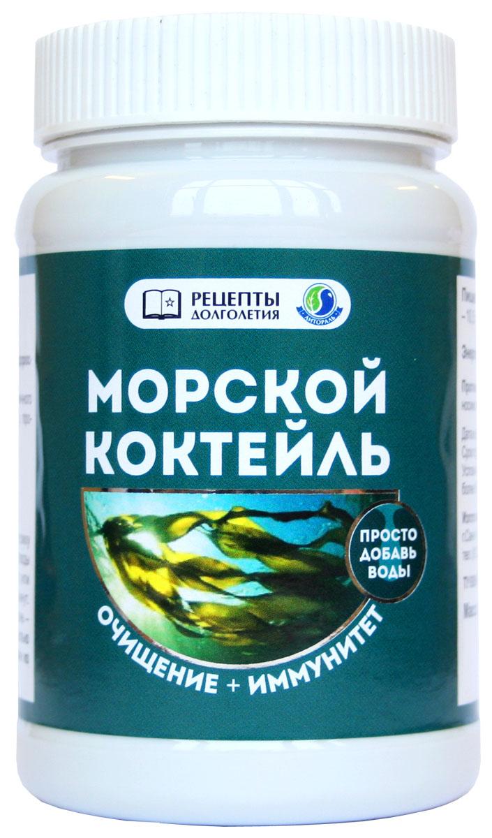 БАД УнИК Литораль Морской коктейль. Очищение + иммунитет, 200 г ламинария водоросли в порошке купить в аптеке цена