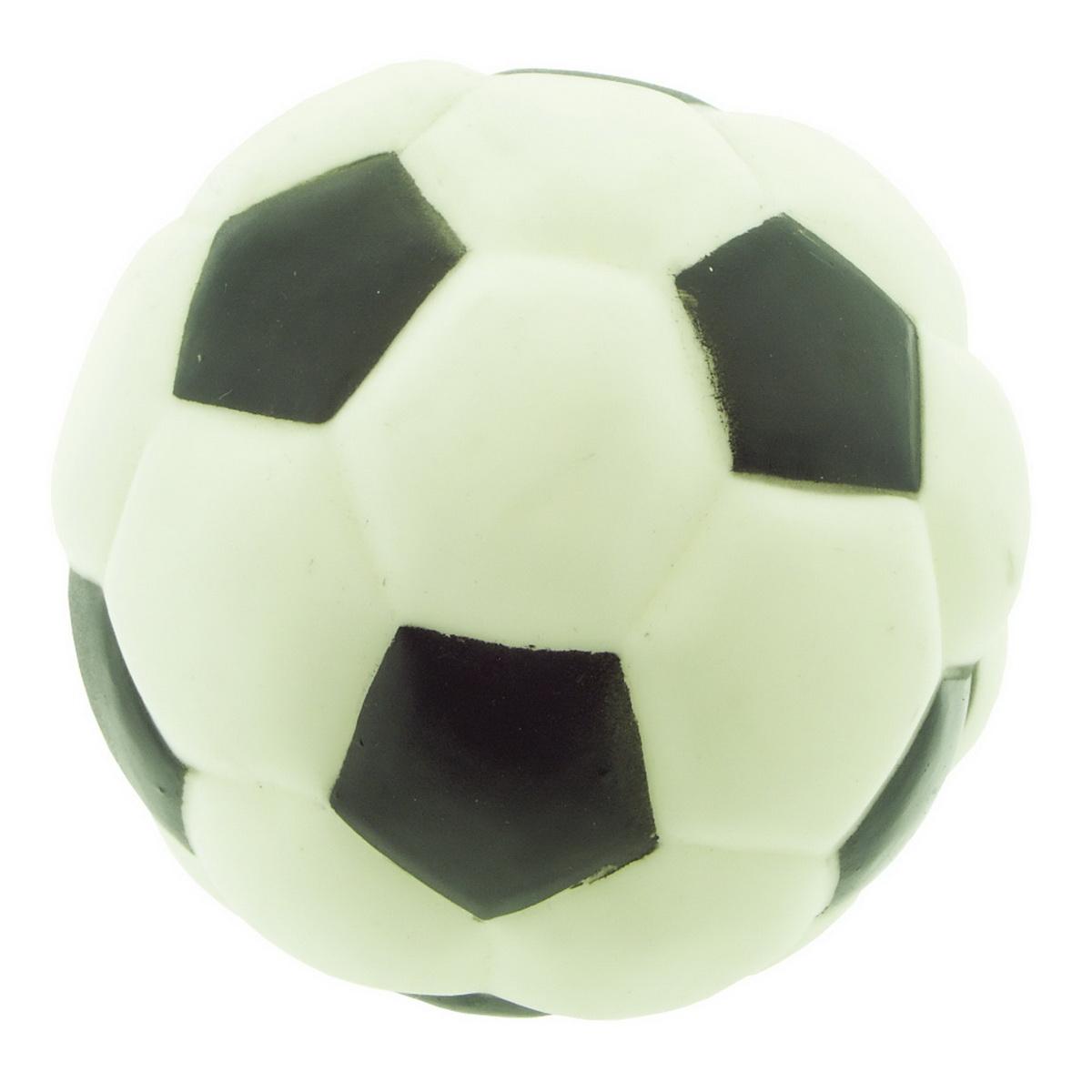 Игрушка для собак Dezzie Мяч. Футбол, диаметр 10,8 см игрушка fauna international firt 0022 мяч на верёвке 40cm для собак 52021