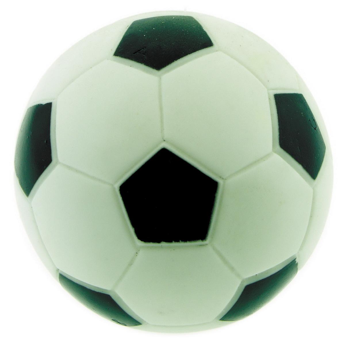 Игрушка для собак Dezzie Мяч. Футбол, диаметр 7,8 см игрушка для собак dezzie кольцо с запахом мяса диаметр 8 5 см