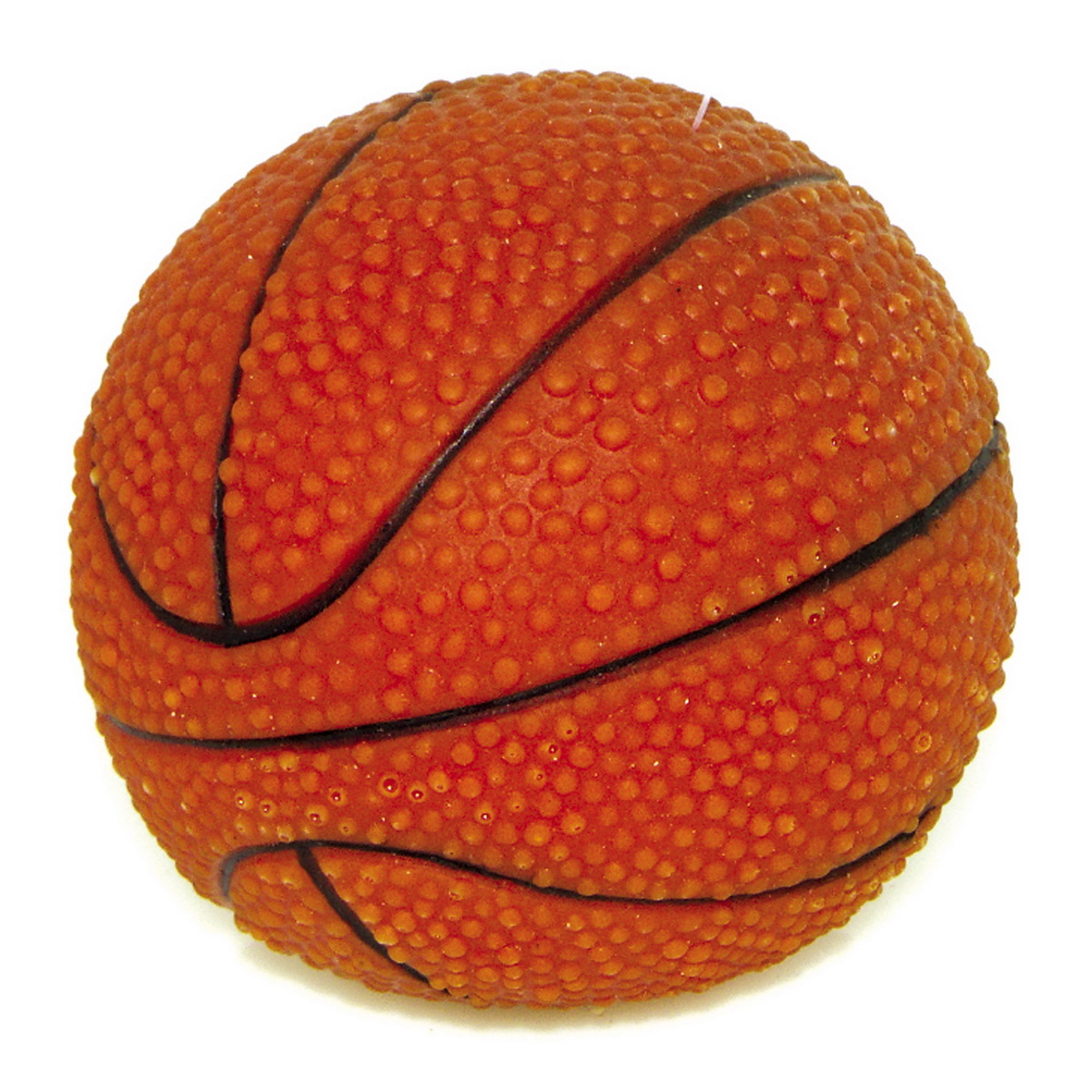 Игрушка для собак Dezzie Мяч. Баскетбол, диаметр 7,5 см игрушка fauna international firt 0022 мяч на верёвке 40cm для собак 52021