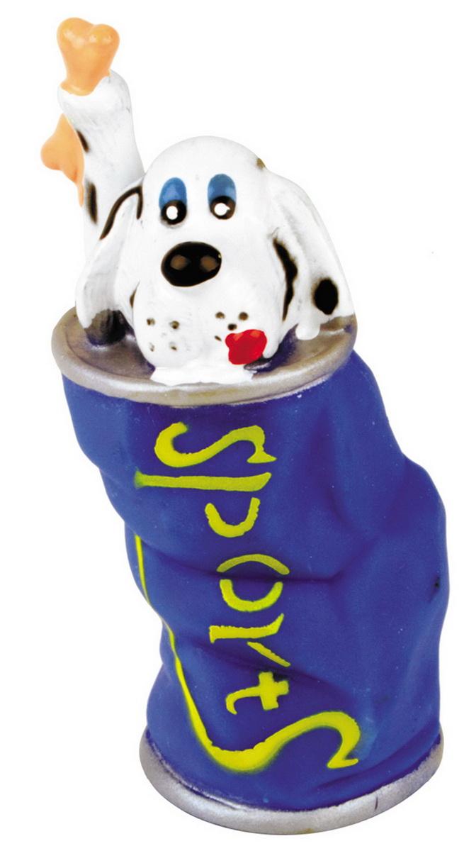 Игрушка для собак Dezzie Собака в банке, высота 13 см игрушка для собак dezzie аппорт 25 5 х 7 см