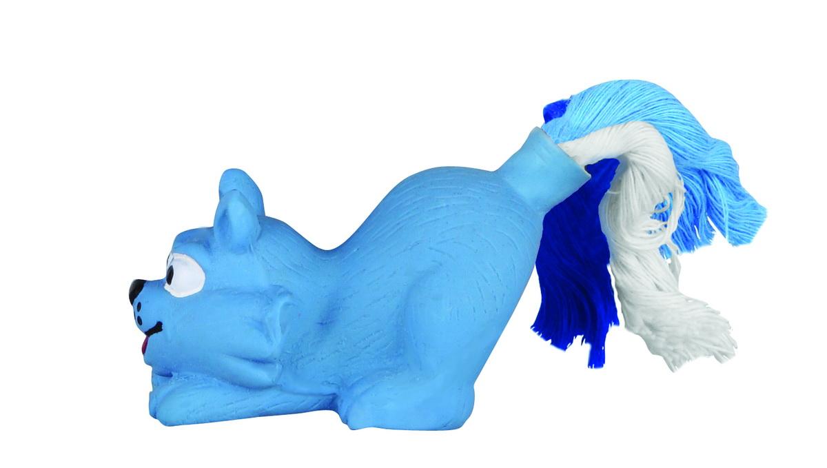 Игрушка для собак Dezzie Кот, 8 см5620104Игрушка для собак Dezzie Кот изготовлена из латекса в виде кота с хвостом из текстильных веревок. Она безопасна для здоровья животного. Латекс не твердеет под действием желудочного сока, поэтому игрушку можно смело покупать даже самым маленьким щенкам.Очаровательная игрушка обеспечит досуг собаке и не позволит ей скучать.