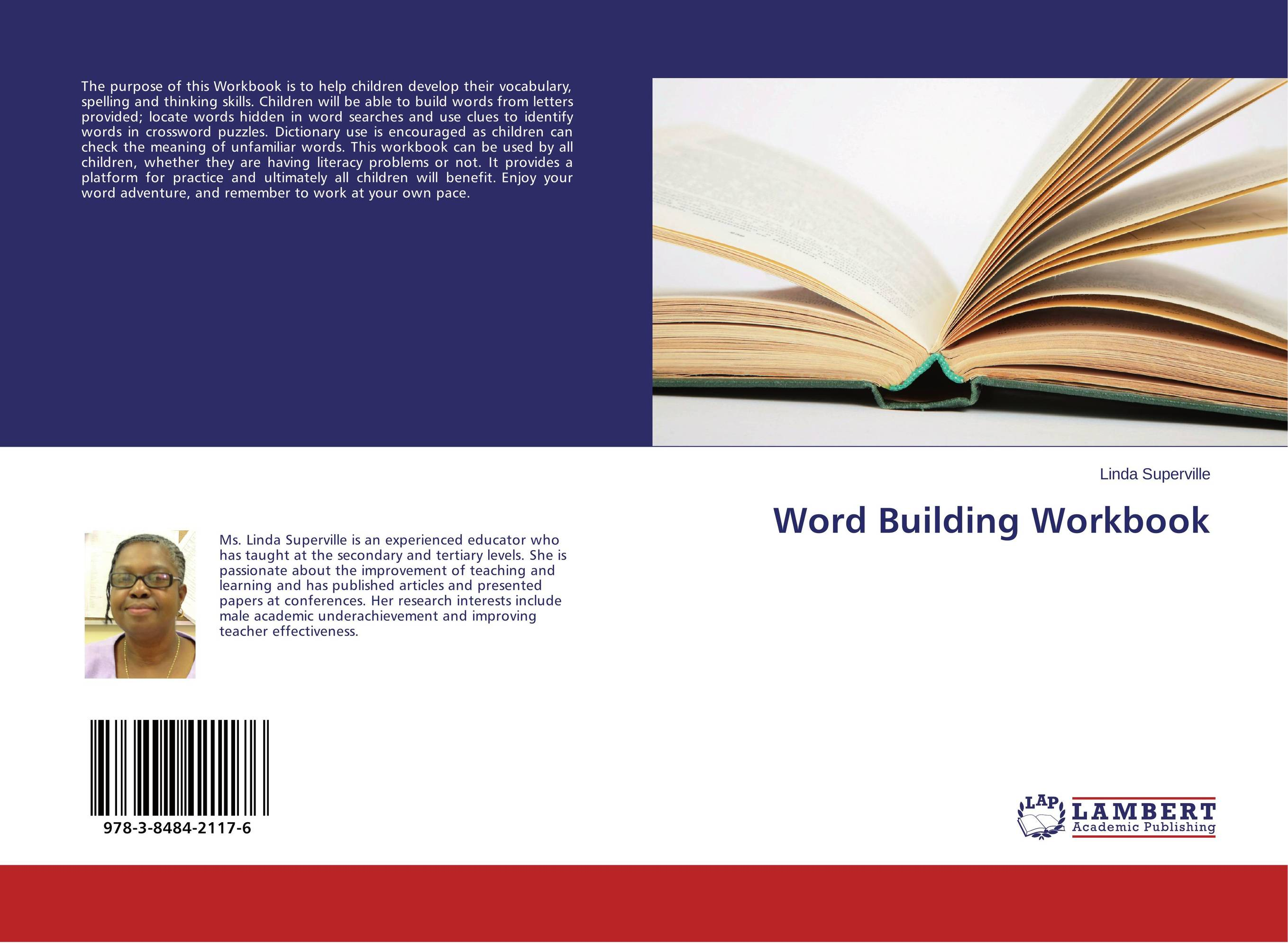 Word Building Workbook letters to your unconscious