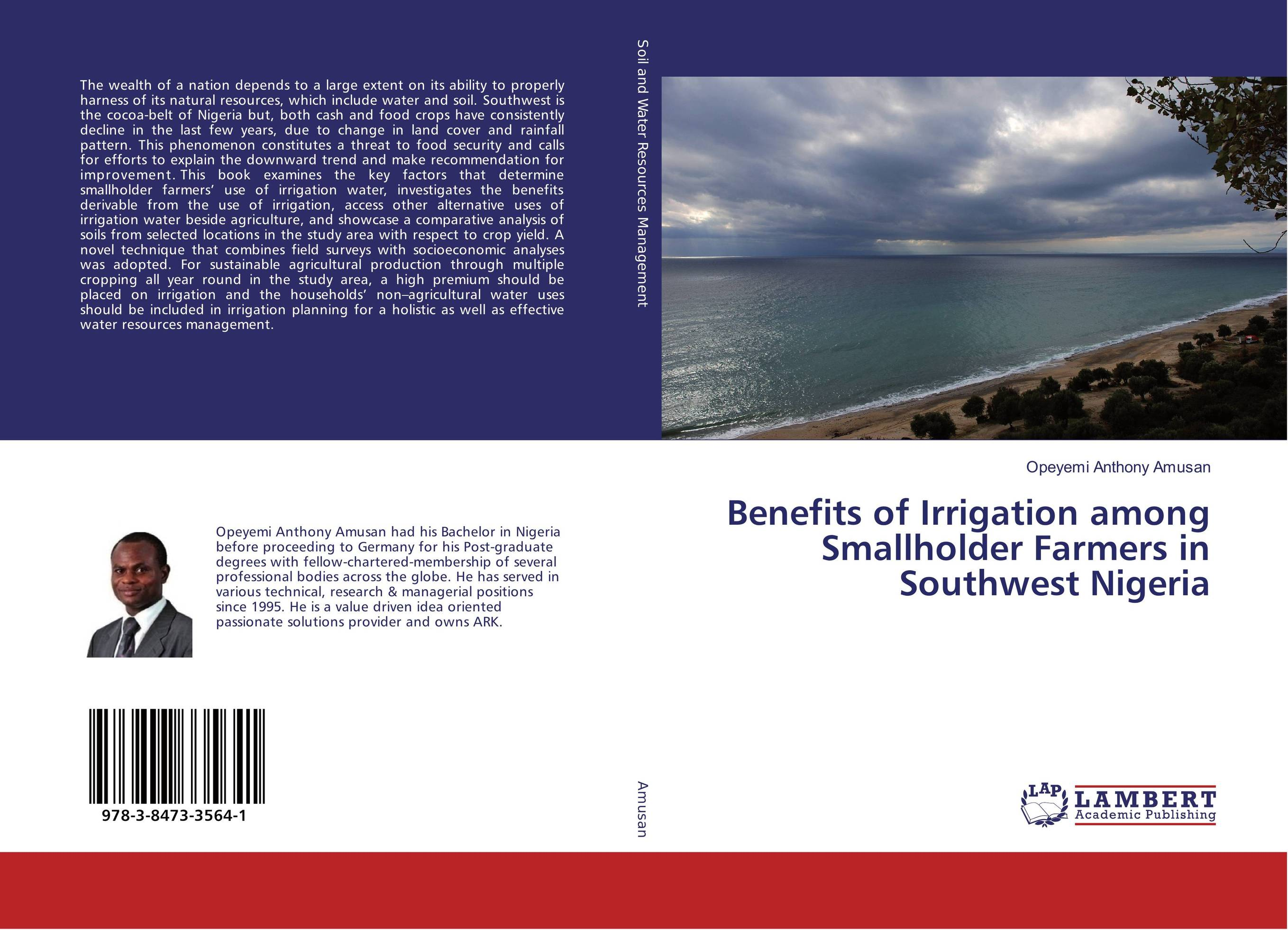 Benefits of Irrigation among Smallholder Farmers in Southwest Nigeria sikhulumile sinyolo smallholder irrigation water security and rural household welfare