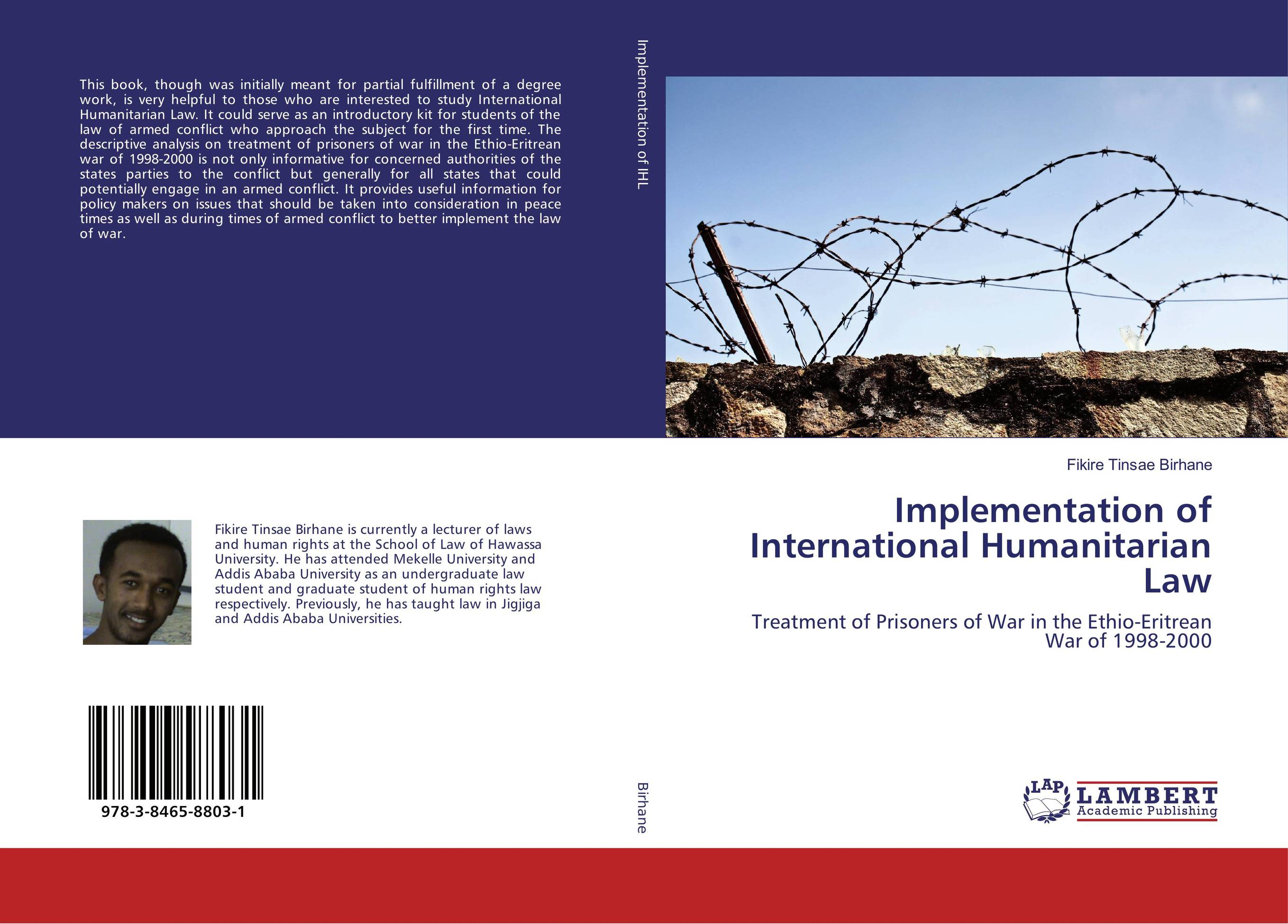 Implementation of International Humanitarian Law купить