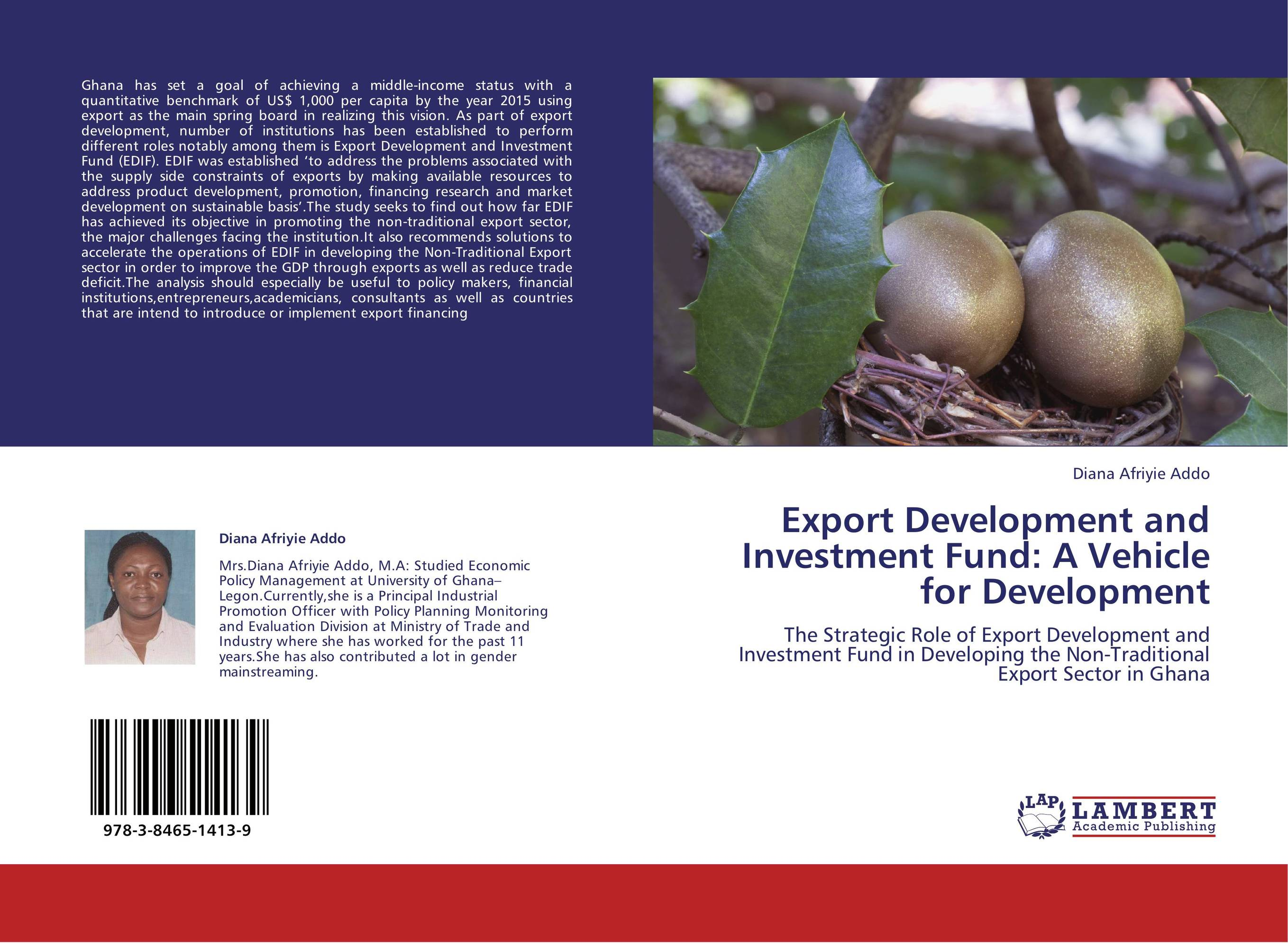 Export Development and Investment Fund: A Vehicle for Development presidential nominee will address a gathering