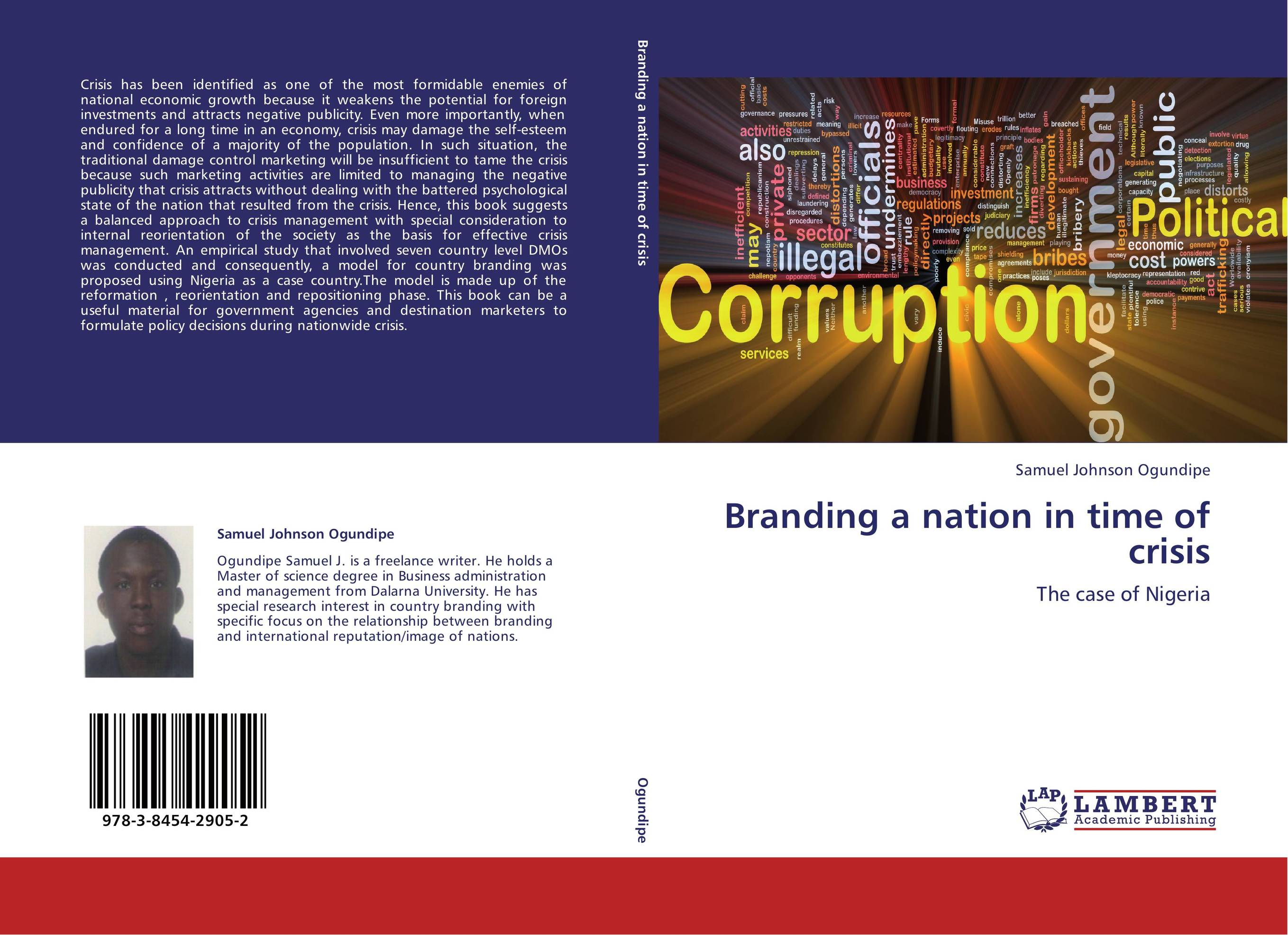 Branding a nation in time of crisis teach yourself change and crisis management
