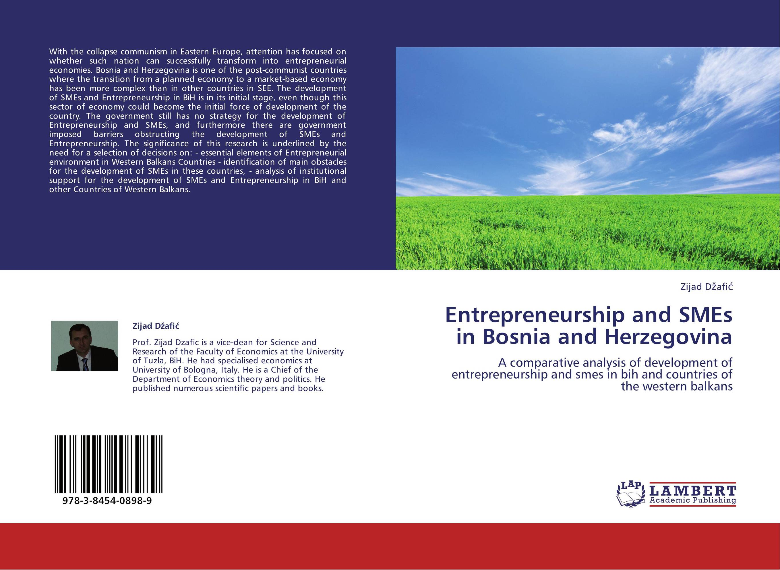 Entrepreneurship and SMEs in Bosnia and Herzegovina john dearie where the jobs are entrepreneurship and the soul of the american economy