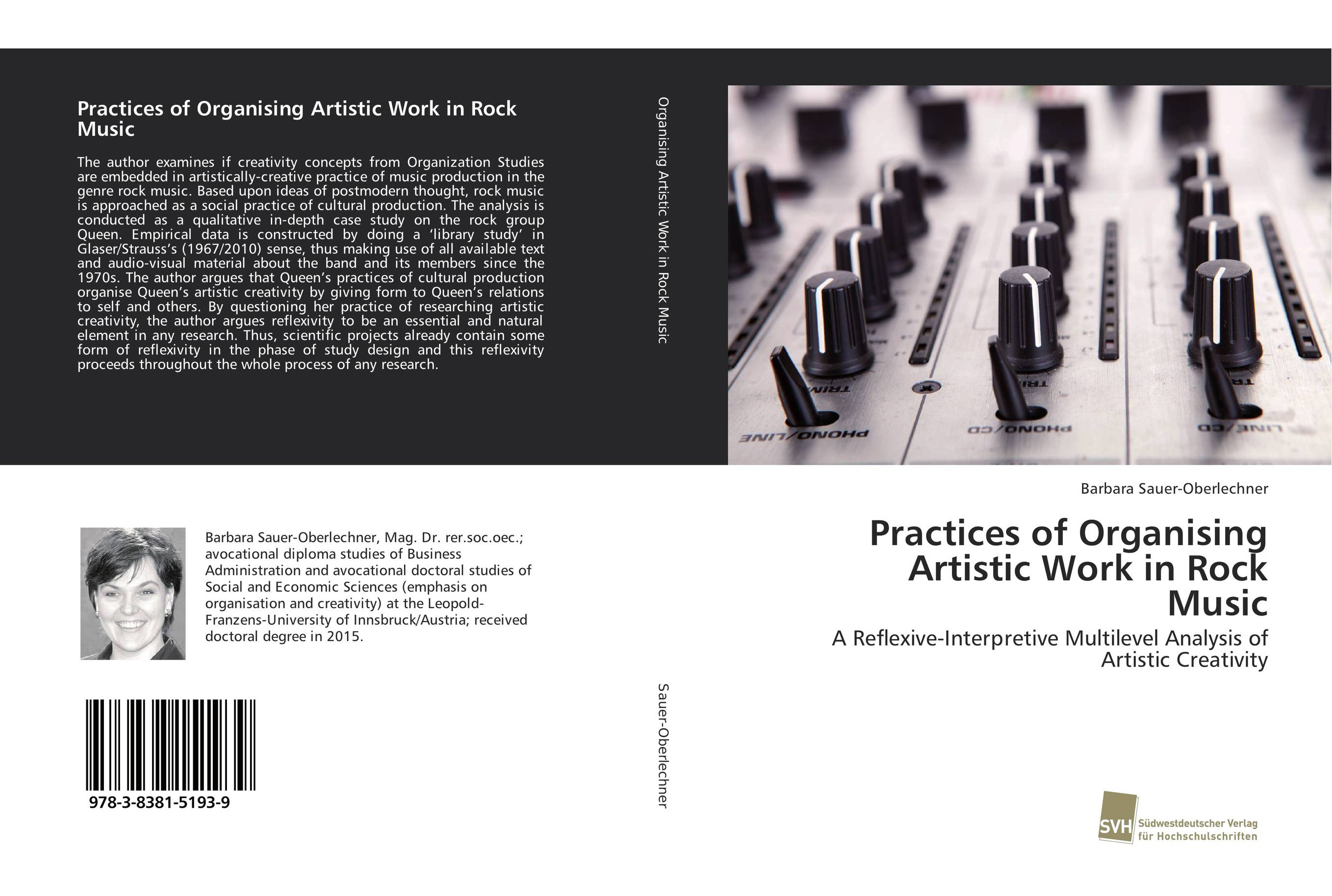 Practices of Organising Artistic Work in Rock Music glaser s31457 00 glaser