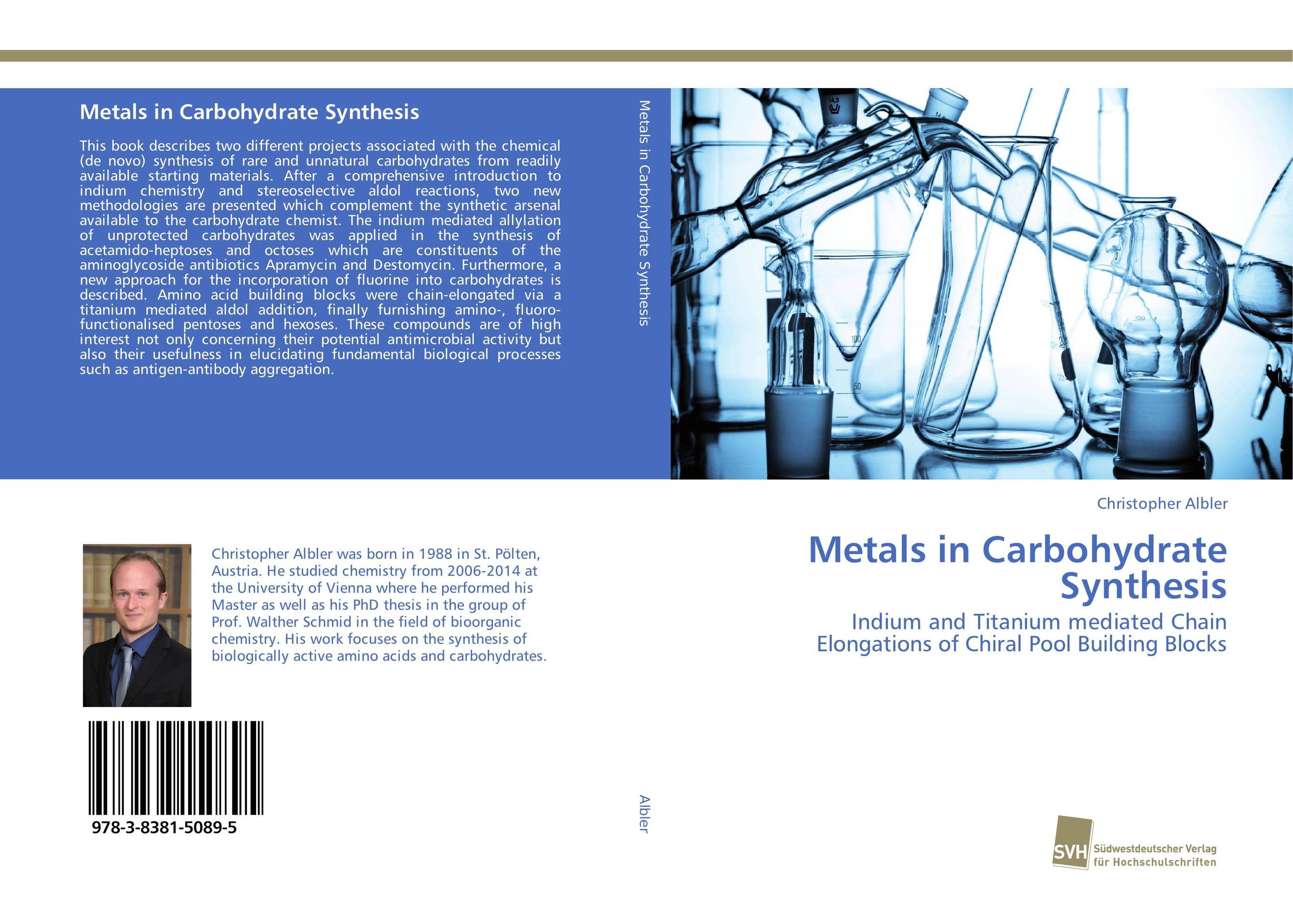 Metals in Carbohydrate Synthesis metals in carbohydrate synthesis