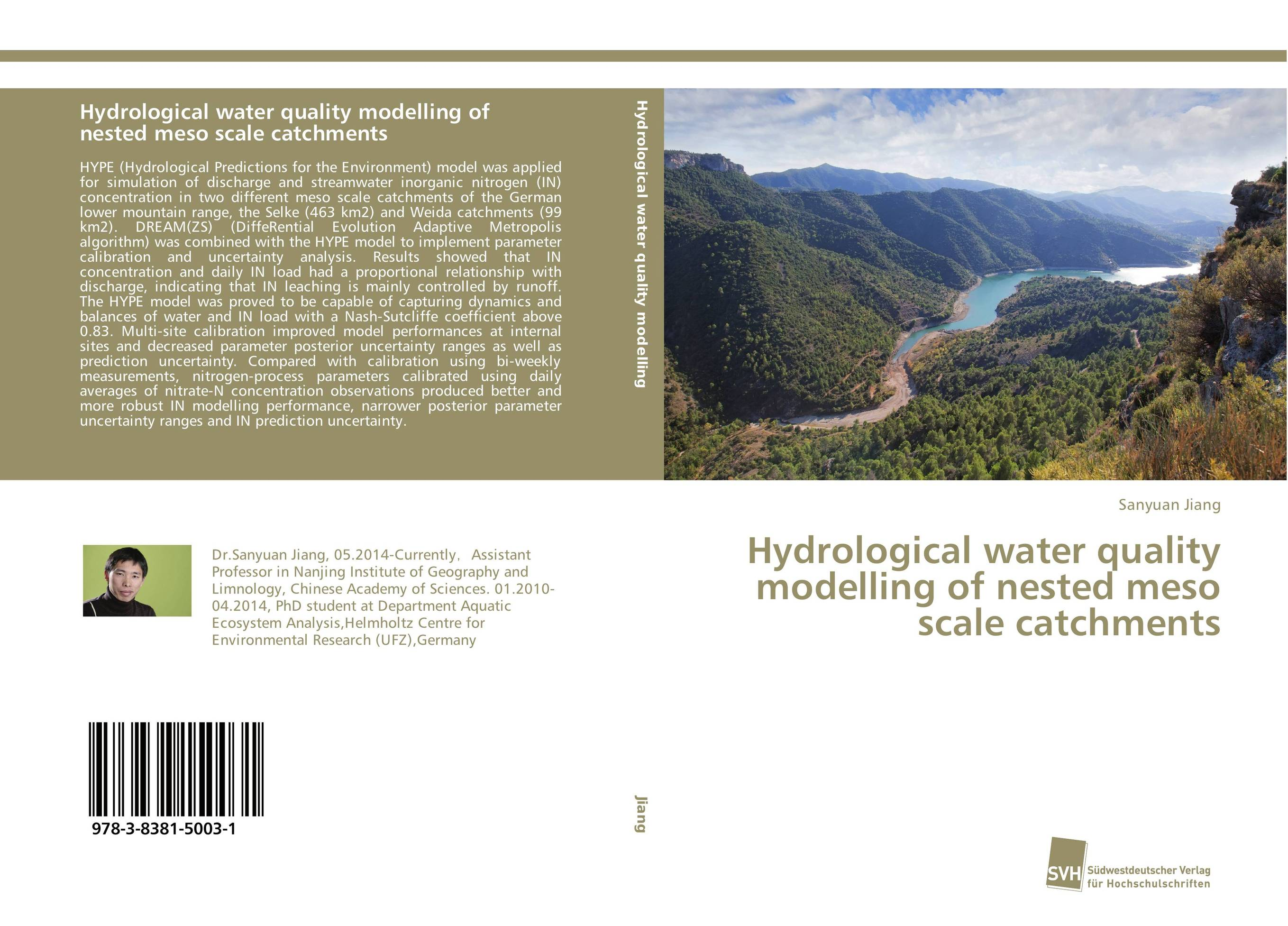 Hydrological water quality modelling of nested meso scale catchments hype hy004burye53