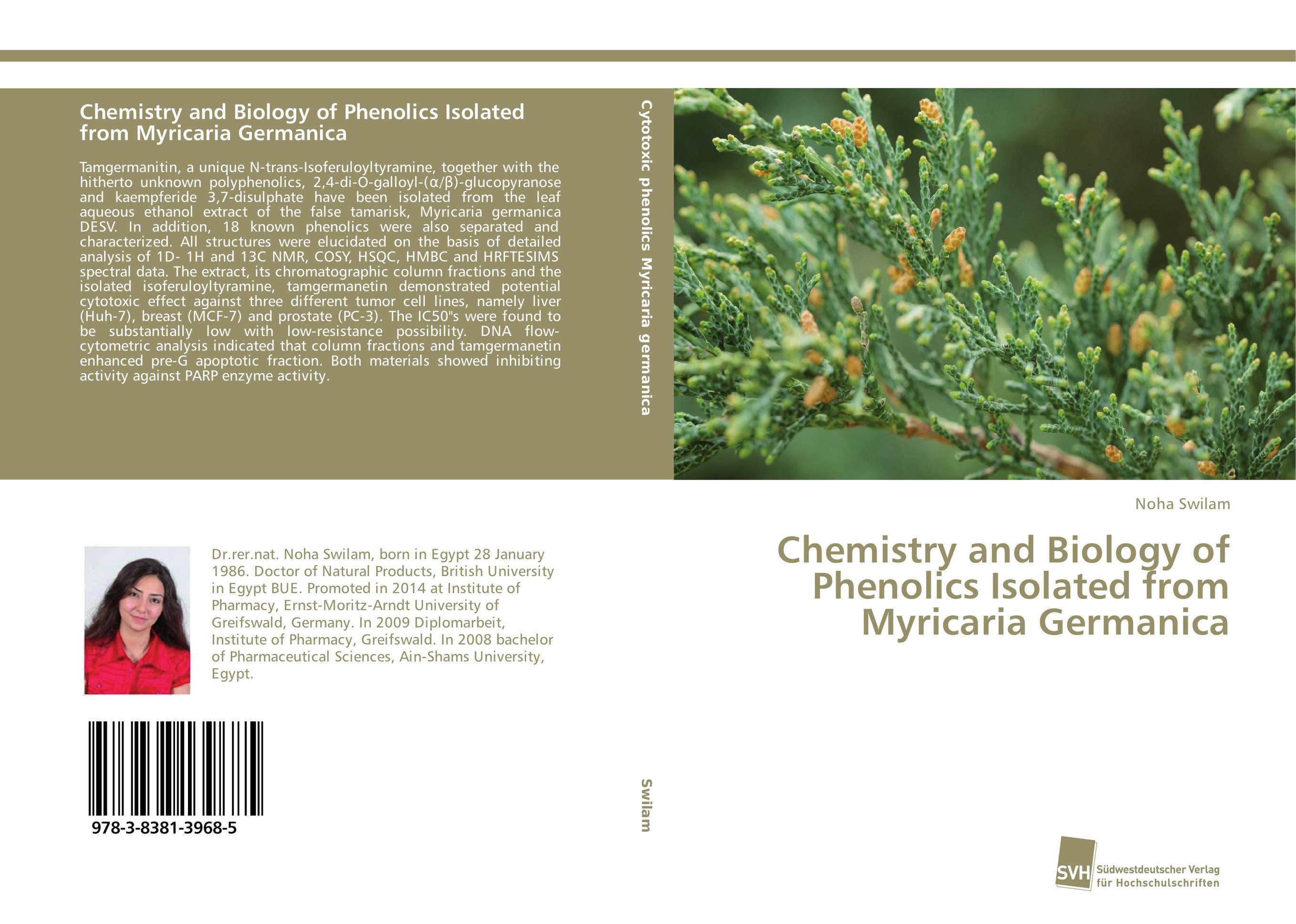 Chemistry and Biology of Phenolics Isolated from Myricaria Germanica chemistry and biology of heparin and heparan sulfate