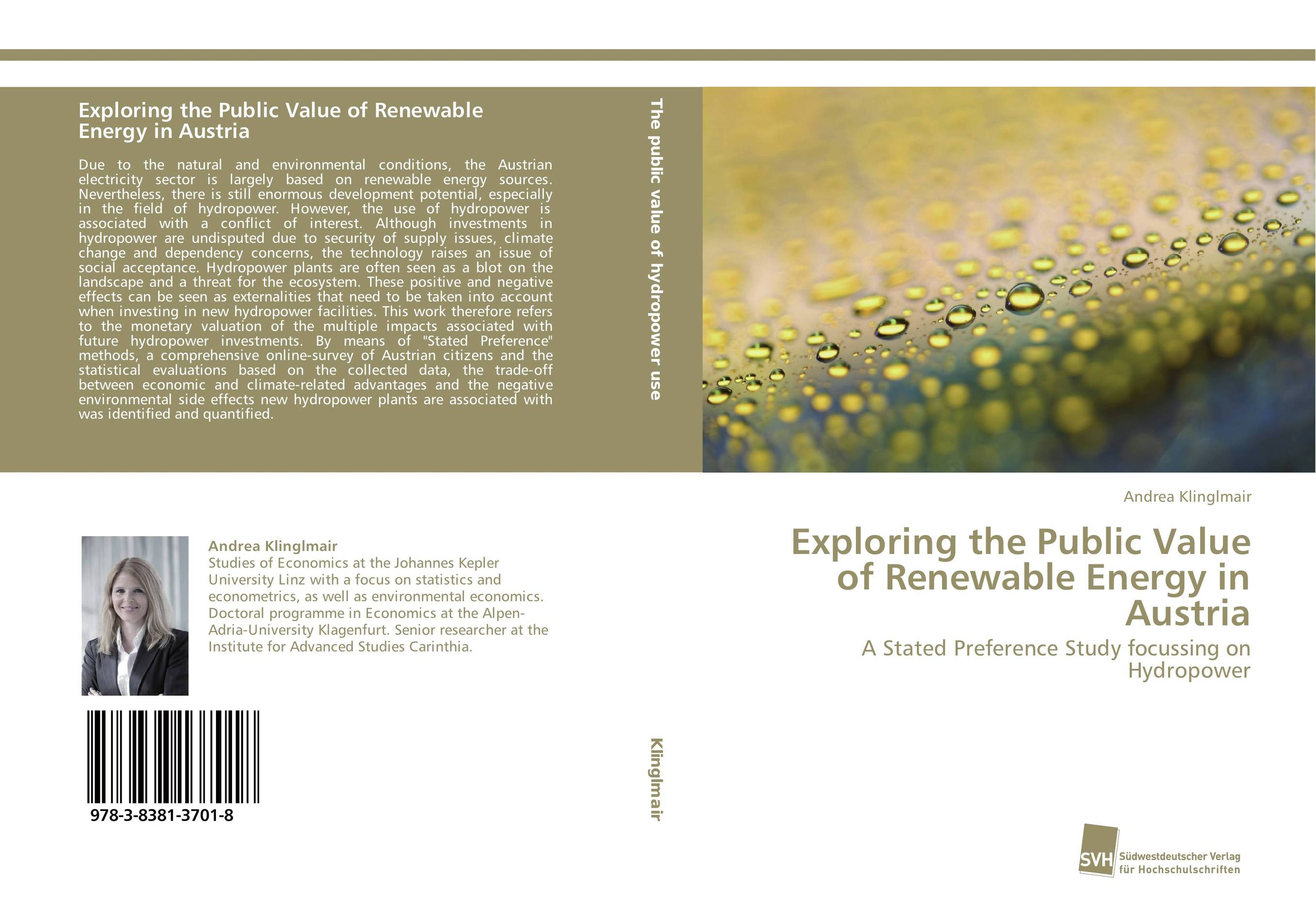 Фото Exploring the Public Value of Renewable Energy in Austria finance and investments