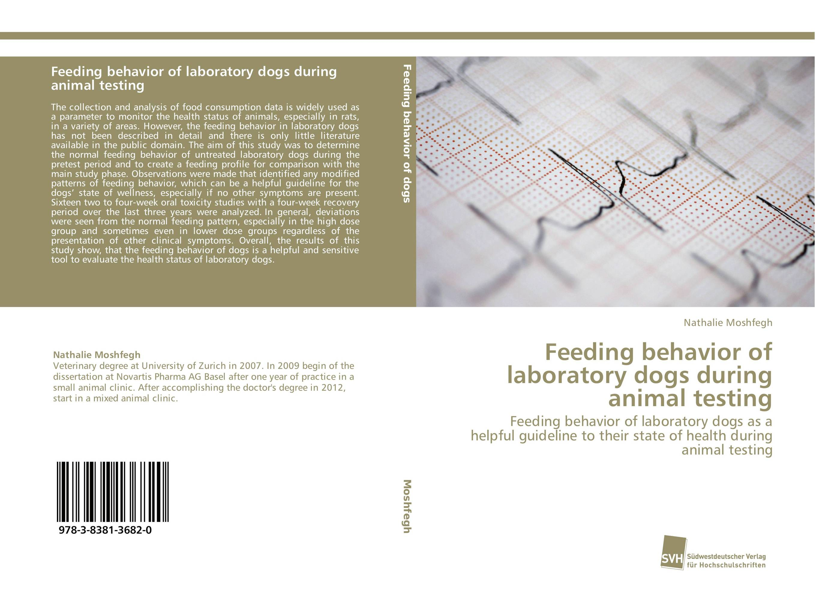 Feeding behavior of laboratory dogs during animal testing neoplasms in dogs