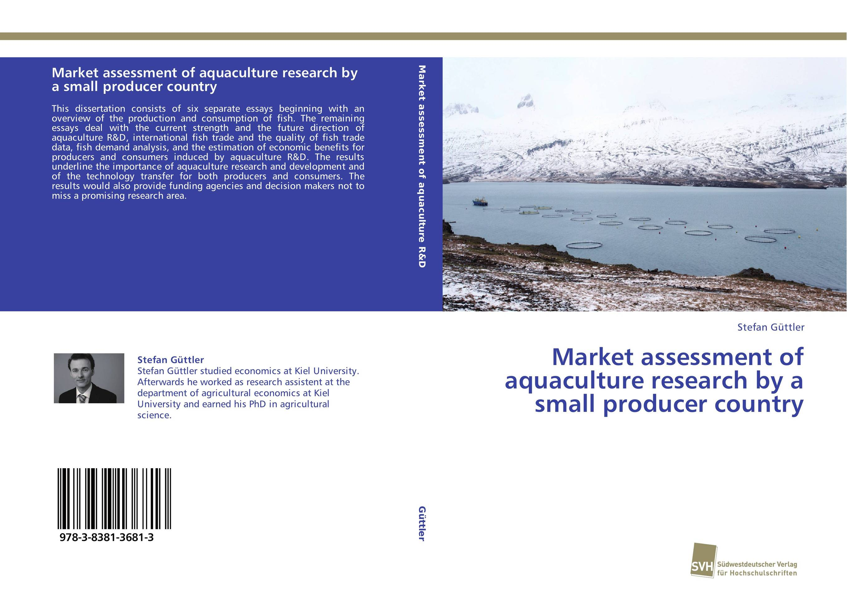 Market assessment of aquaculture research by a small producer country