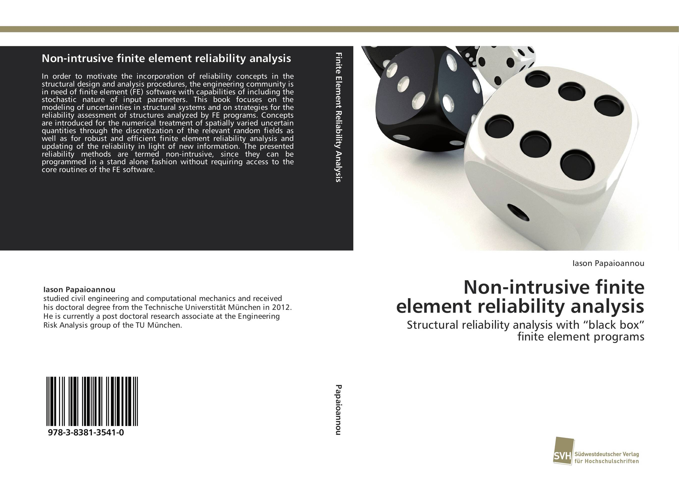 Non-intrusive finite element reliability analysis rd cook cook concepts and applications of finite element analysis 2ed