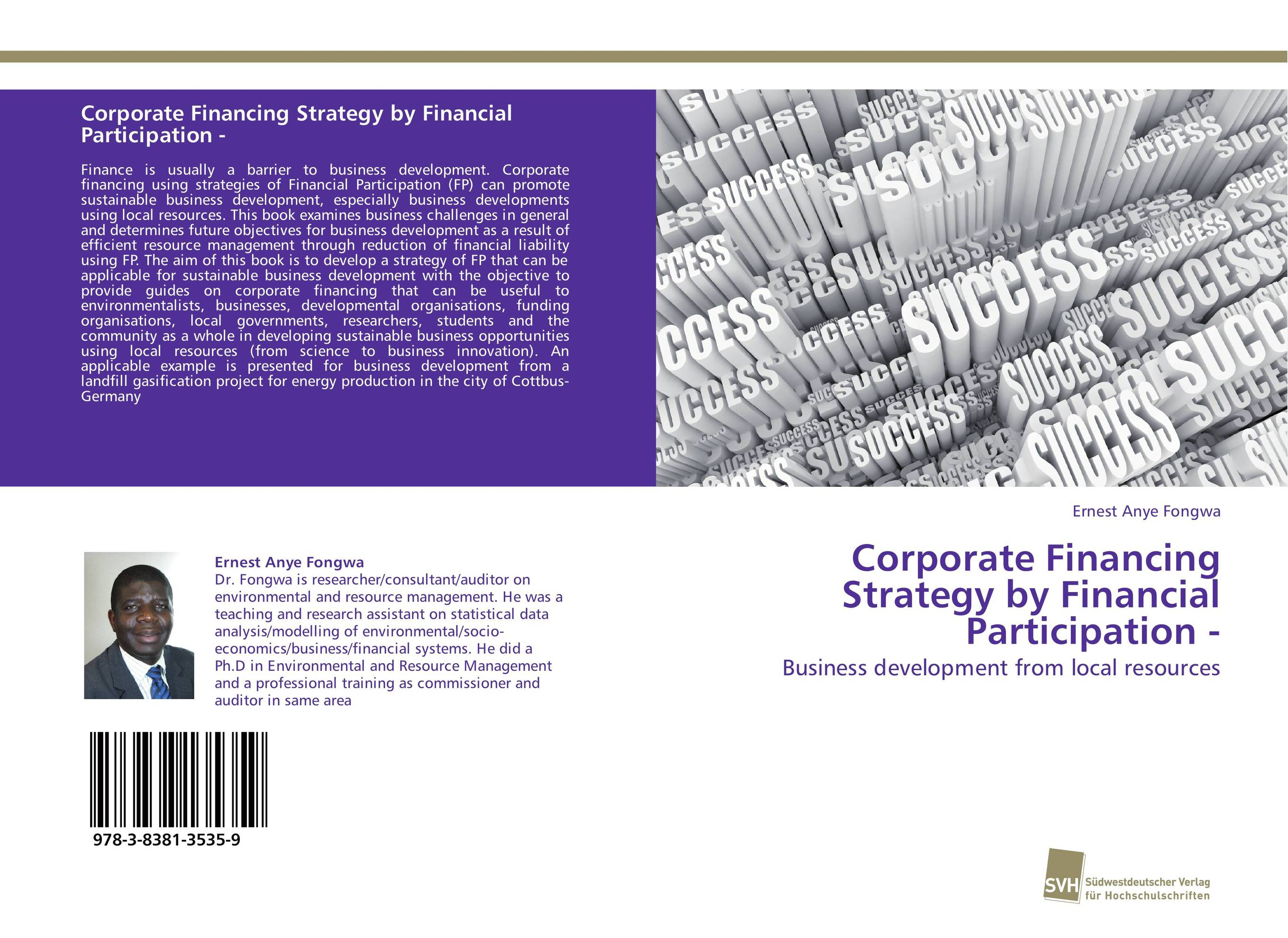 Corporate Financing Strategy by Financial Participation - цена 2017