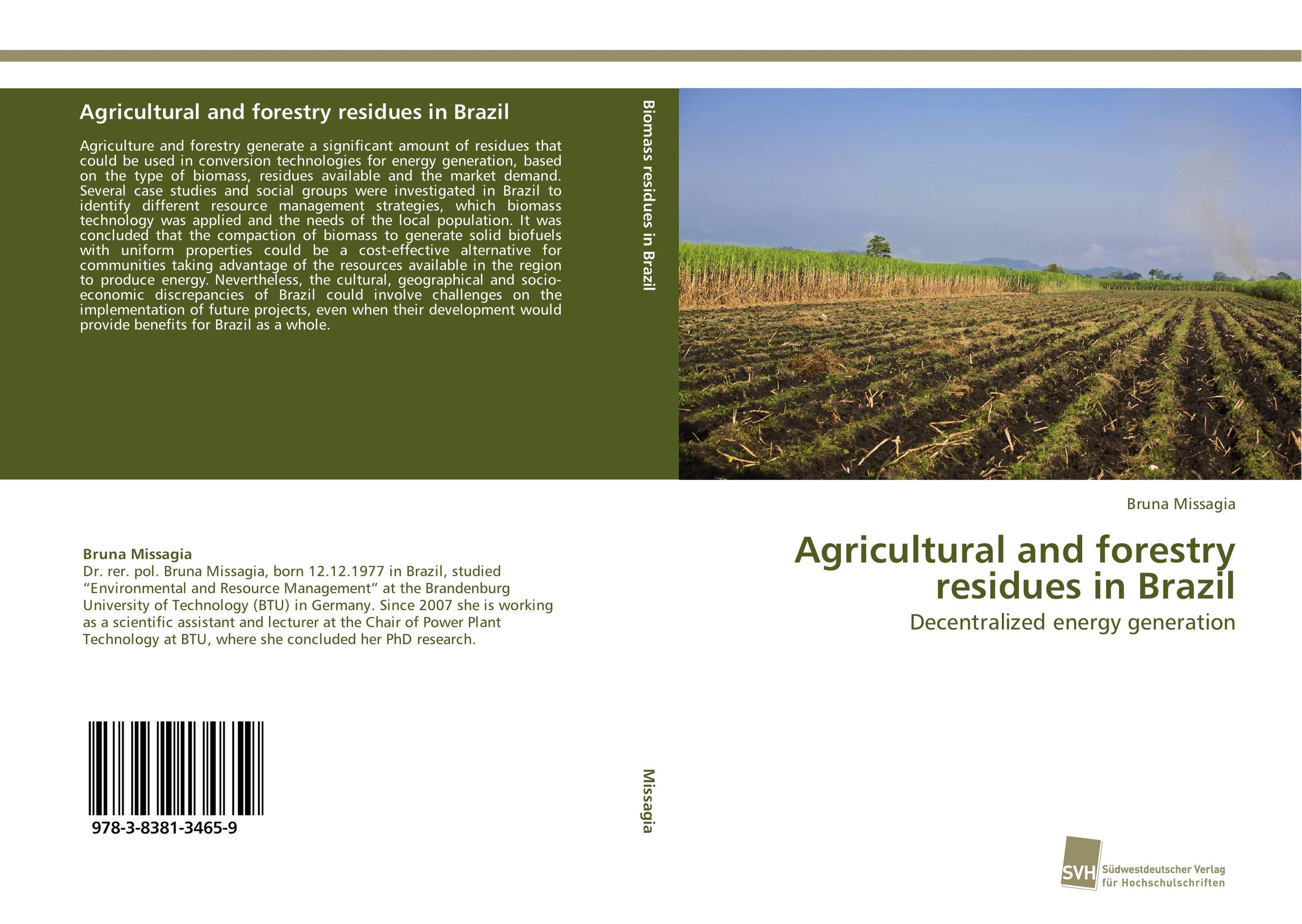 Agricultural and forestry residues in Brazil