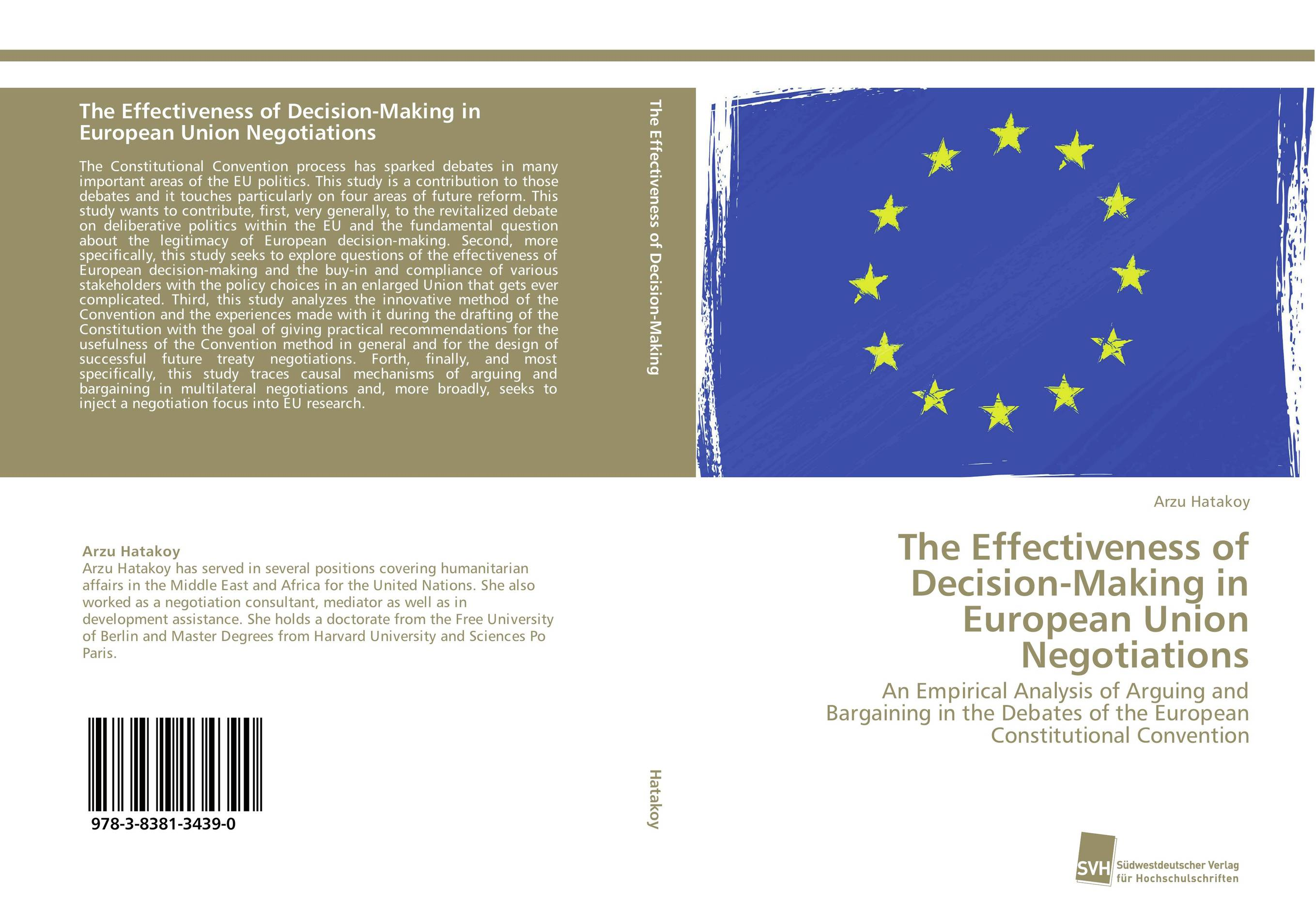The Effectiveness of Decision-Making in European Union Negotiations development of the third european union maritime safety package