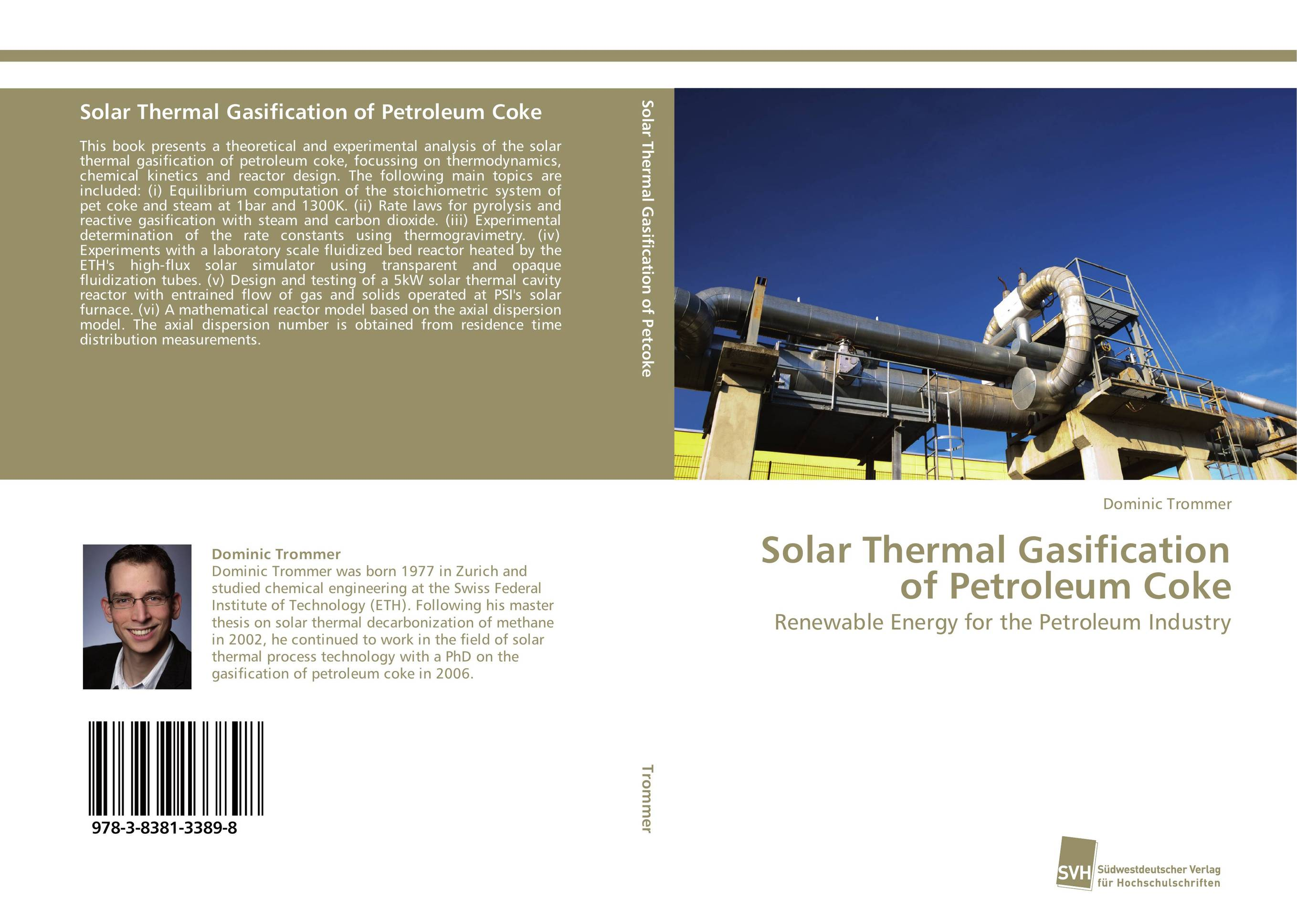 Solar Thermal Gasification of Petroleum Coke md aminul islam design and analysis of a double fed solar ips