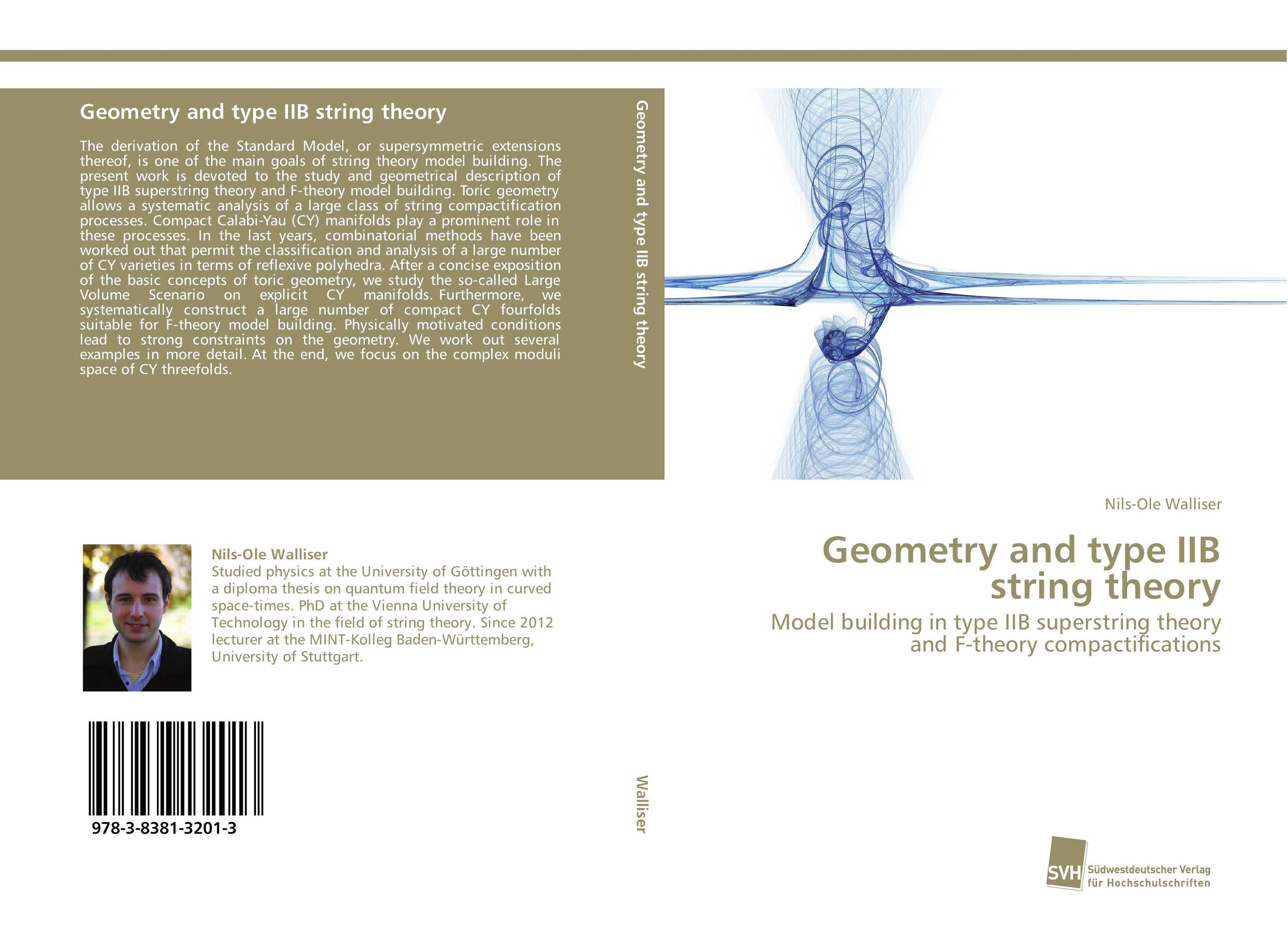 Geometry and type IIB string theory a cat a hat and a piece of string
