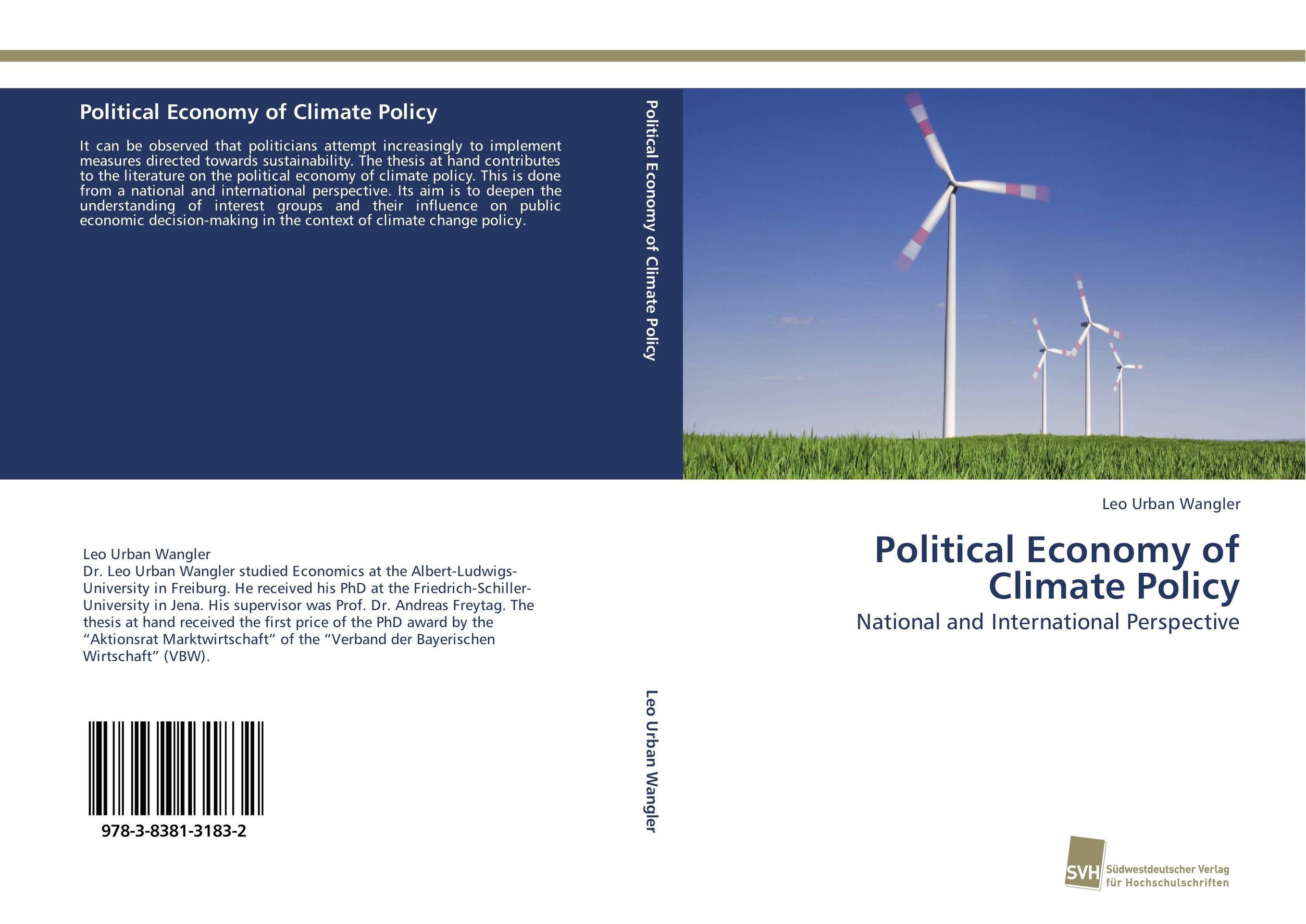 Political Economy of Climate Policy a study of the religio political thought of abdurrahman wahid