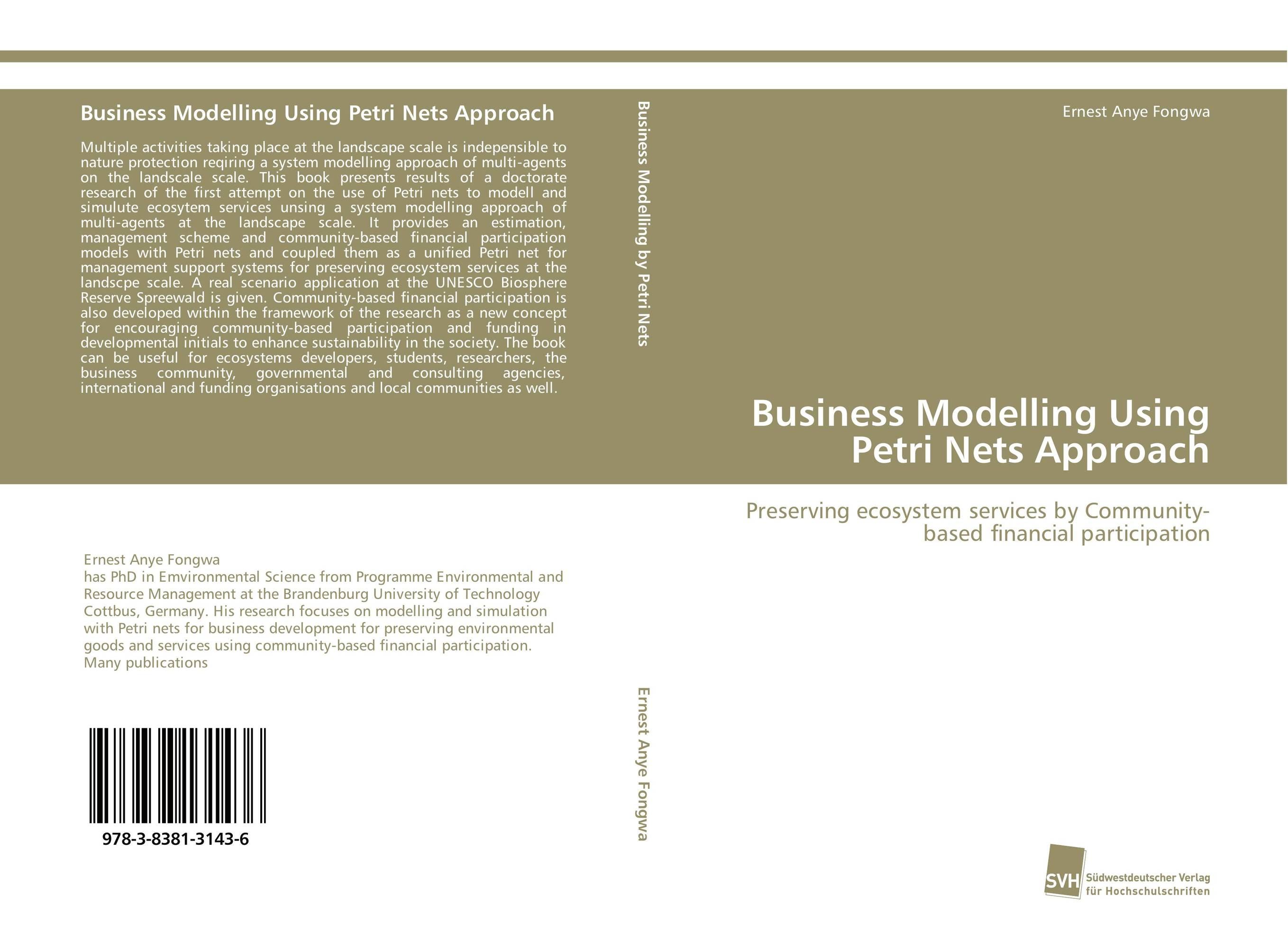 Business Modelling Using Petri Nets Approach a subspace approach for speech signal modelling and classification