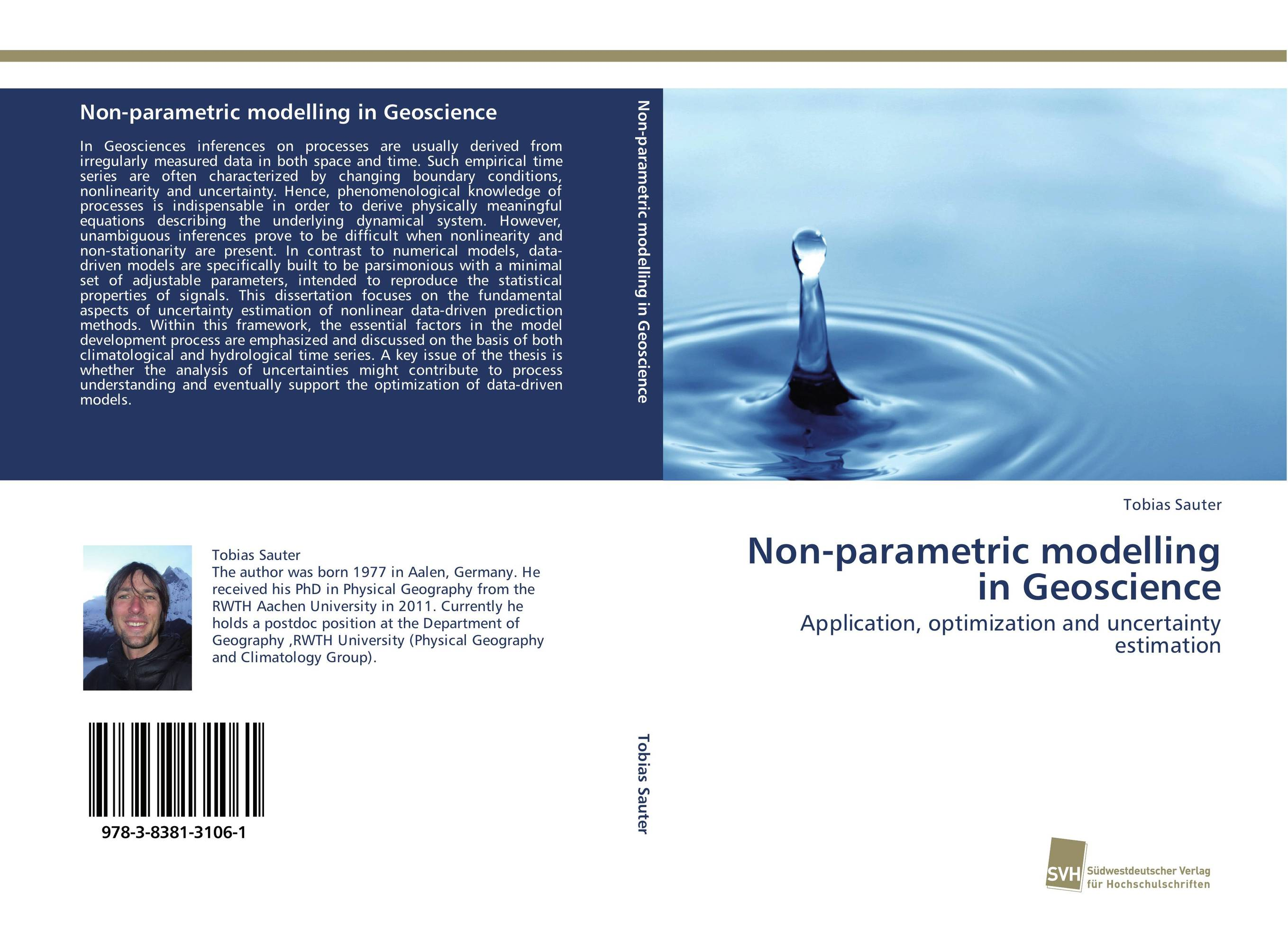 Non-parametric modelling in Geoscience driven to distraction