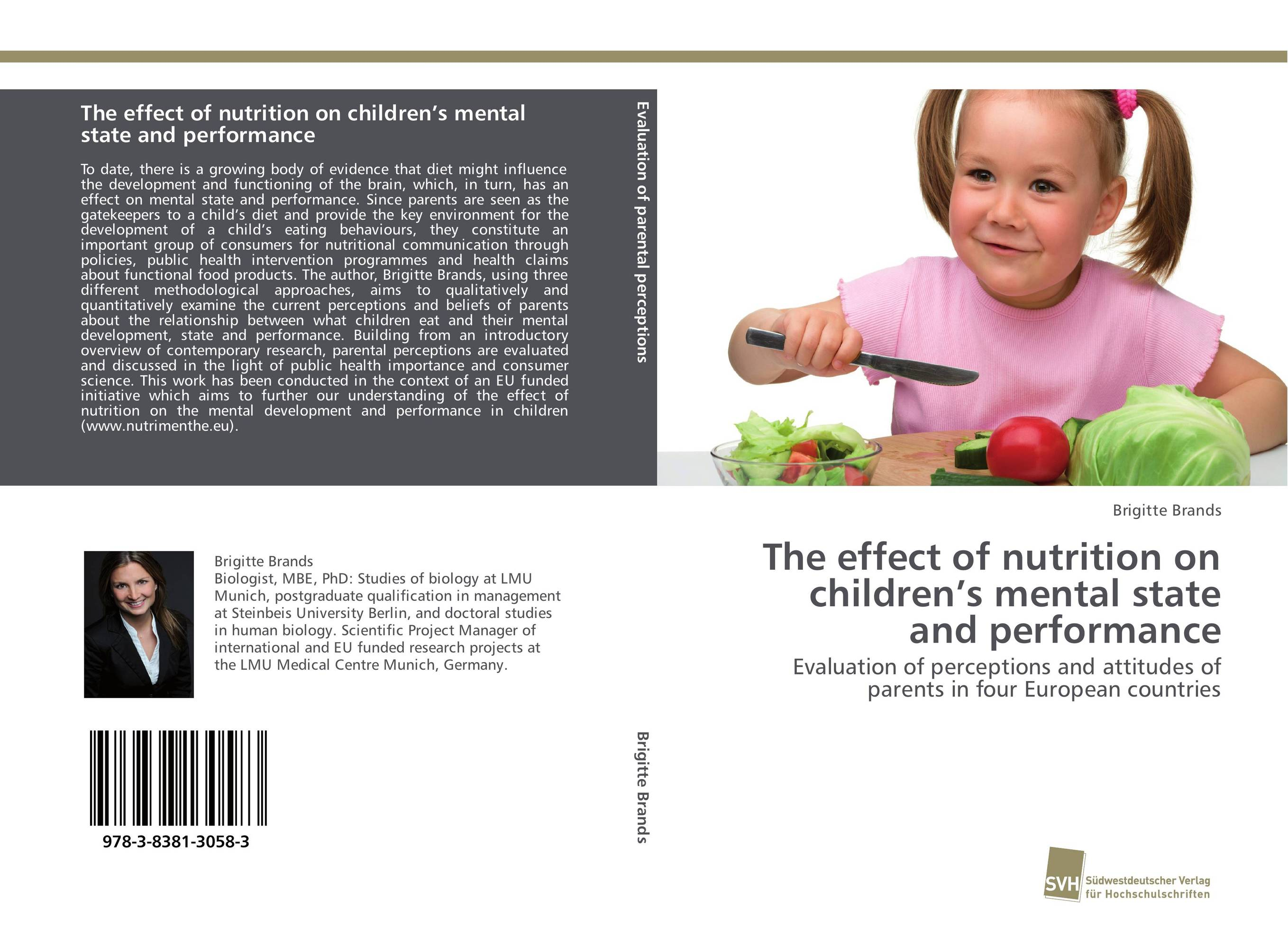The effect of nutrition on children's mental state and performance affair of state an
