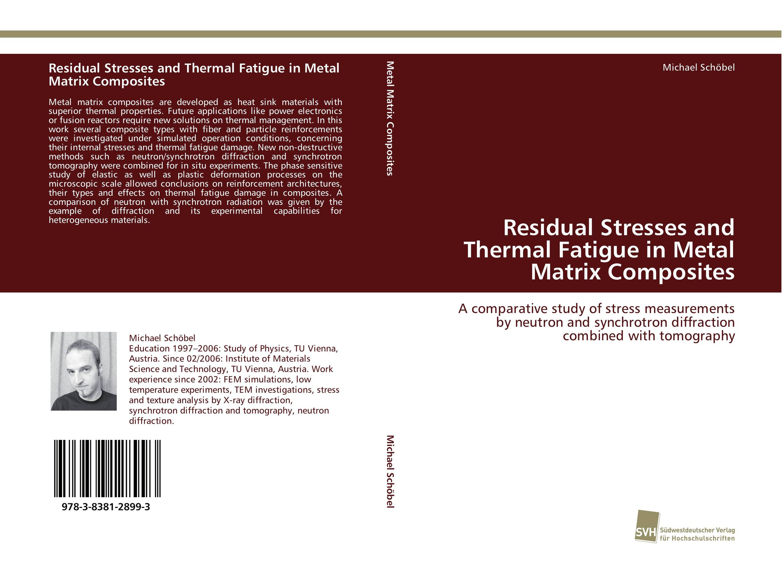 Residual Stresses and Thermal Fatigue in Metal Matrix Composites studies on in situ microfibrillar composites