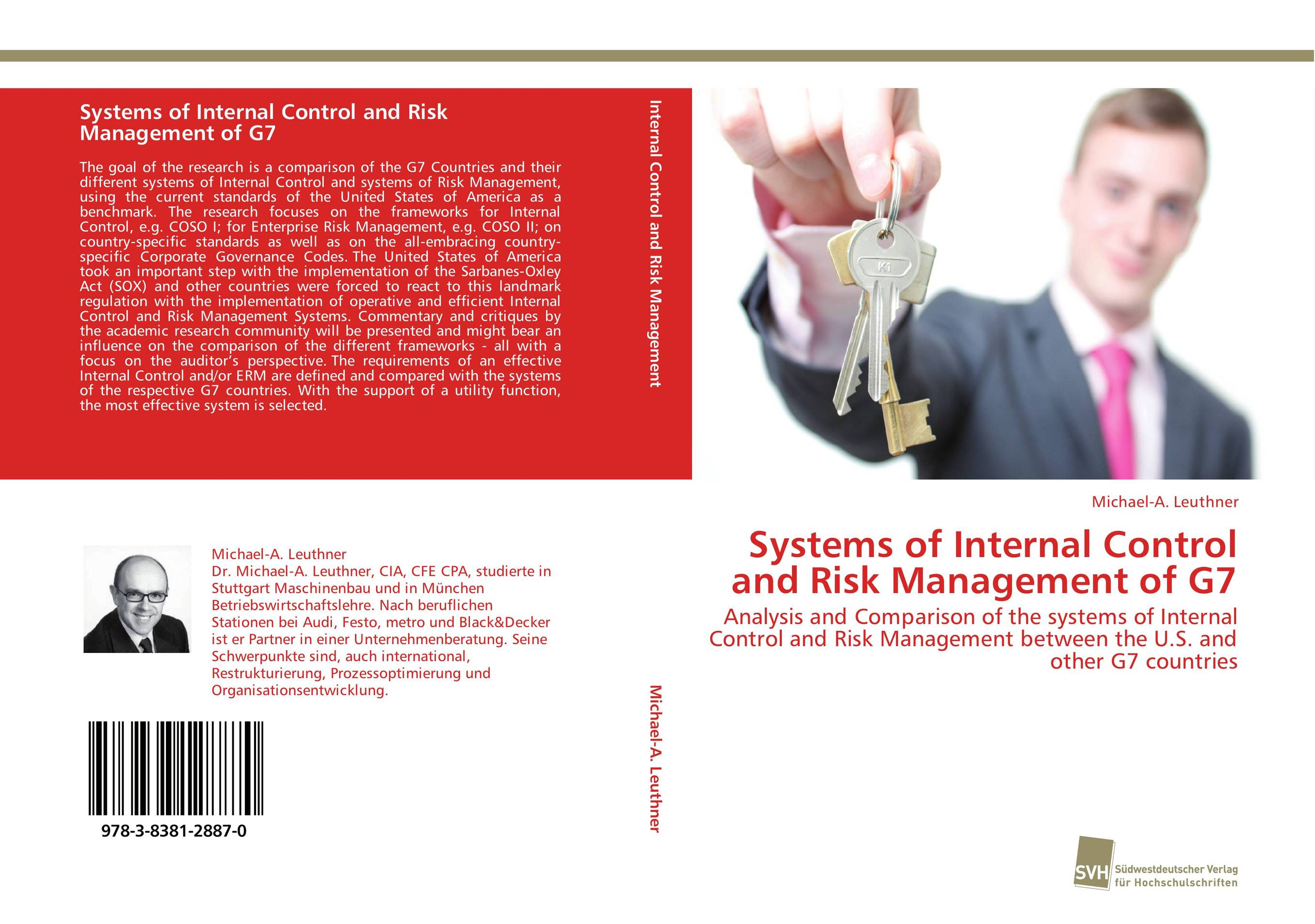 Systems of Internal Control and Risk Management of G7 sim segal corporate value of enterprise risk management the next step in business management