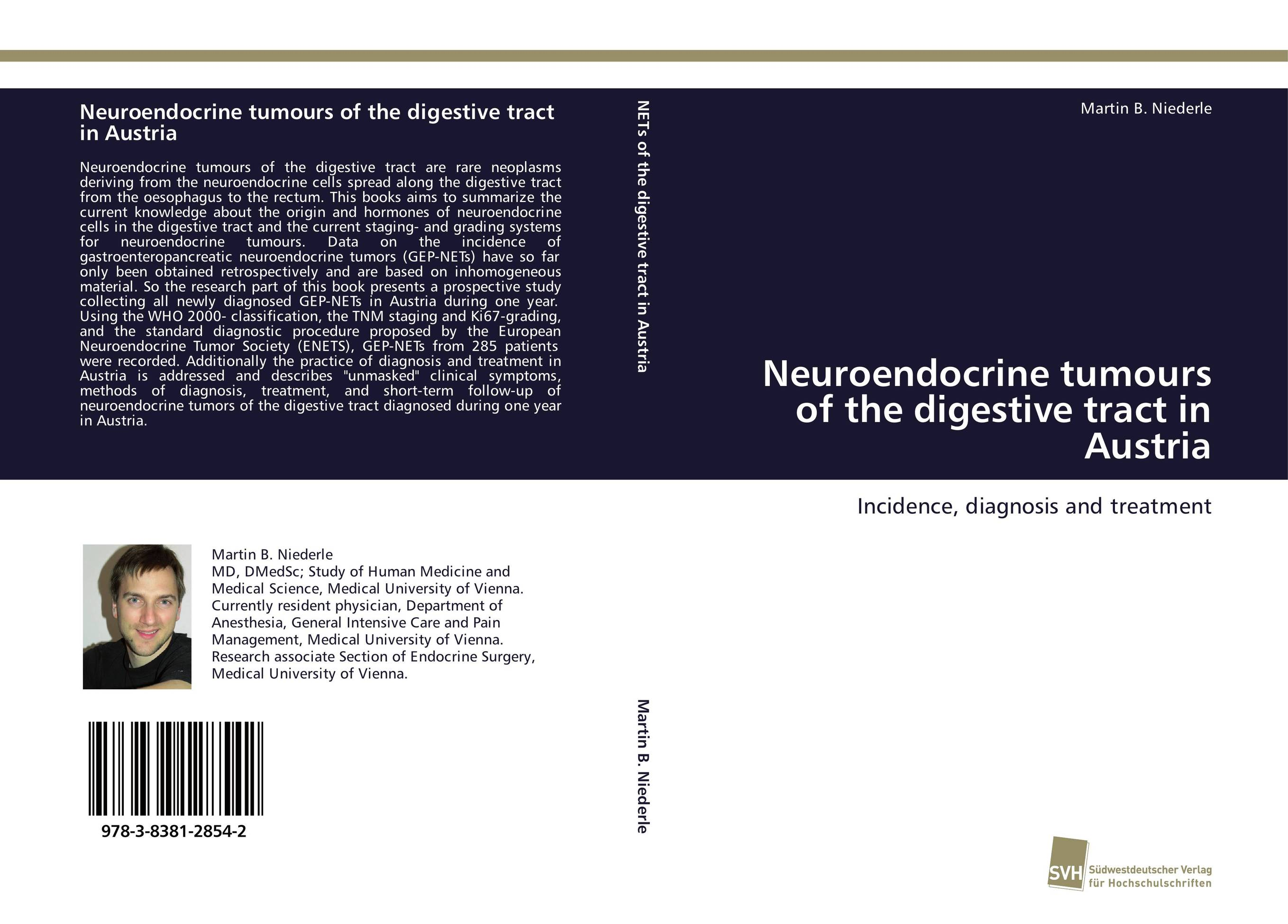 Neuroendocrine tumours of the digestive tract in Austria цена и фото