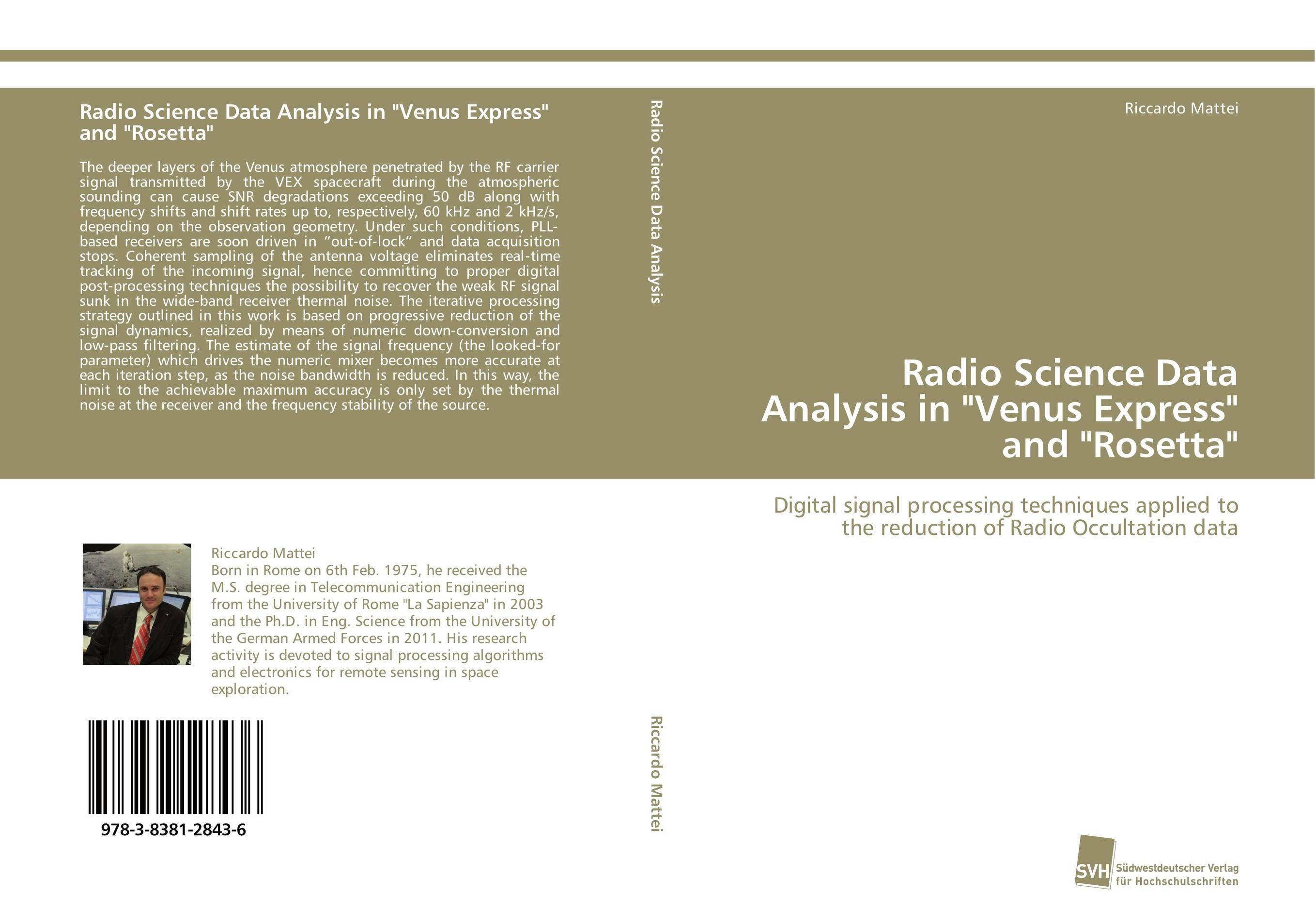 Radio Science Data Analysis in Venus Express and Rosetta voluntary associations in tsarist russia – science patriotism and civil society