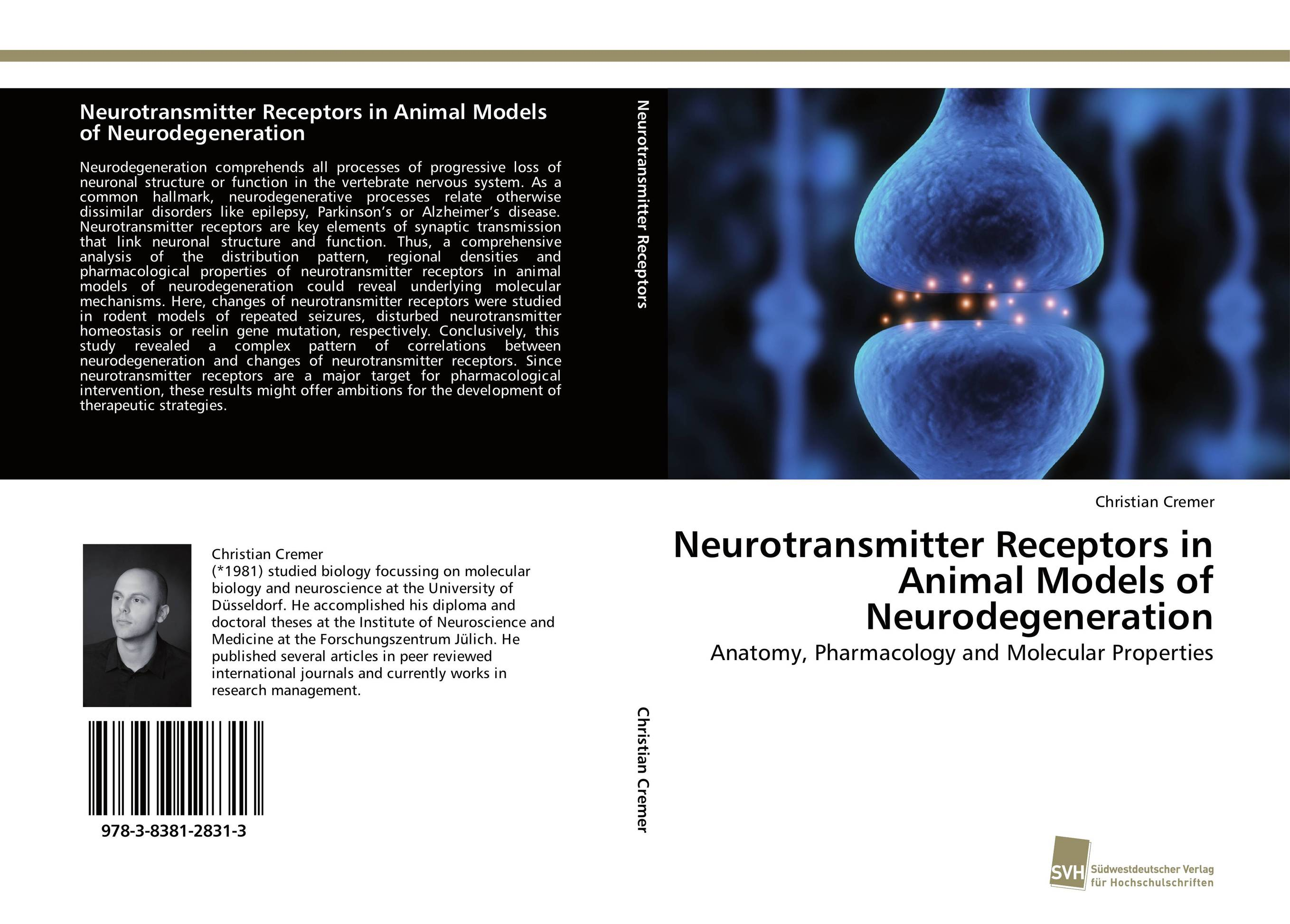 Neurotransmitter Receptors in Animal Models of Neurodegeneration identification processes of articulation and phonemic disorders
