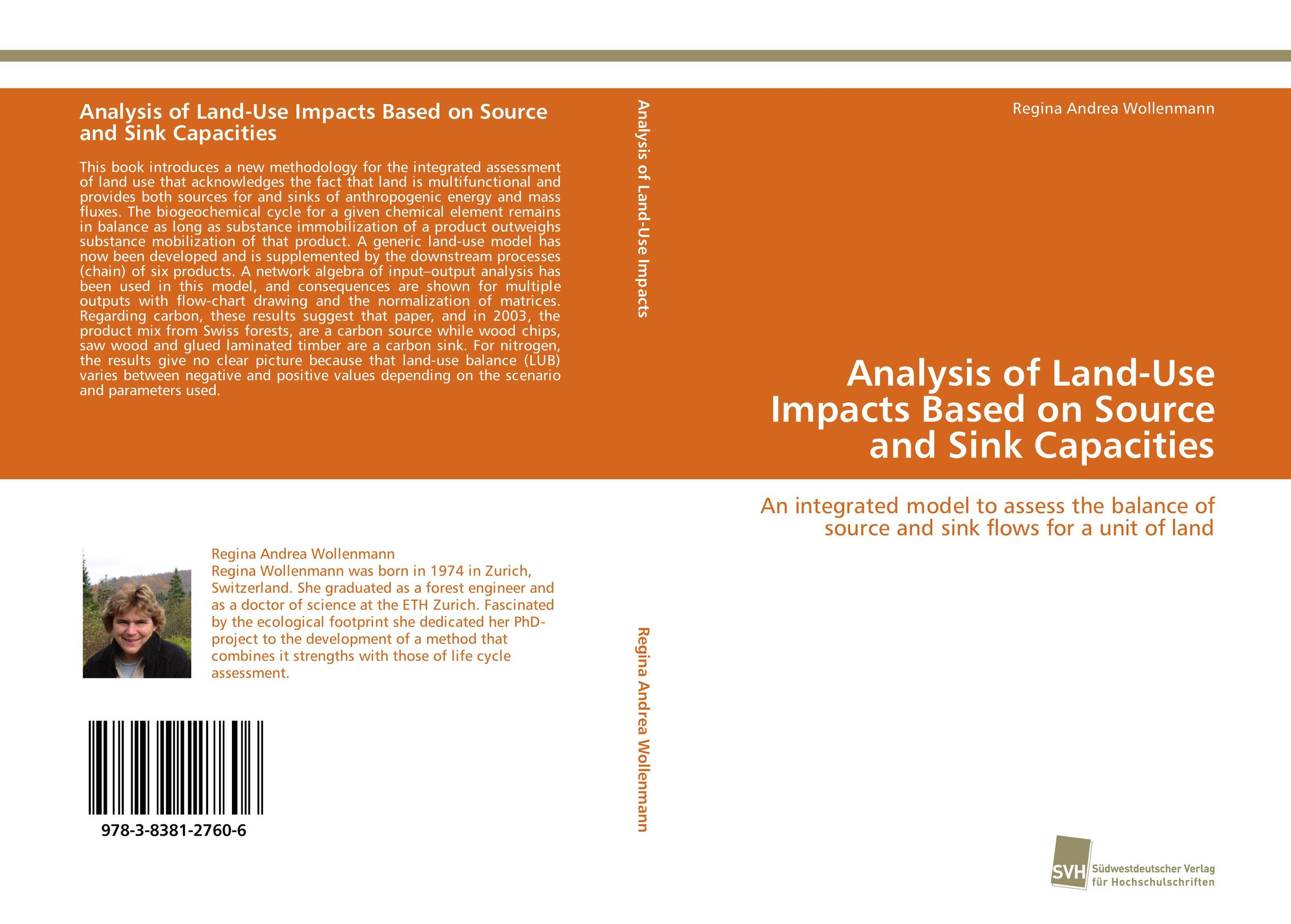 Analysis of Land-Use Impacts Based on Source and Sink Capacities