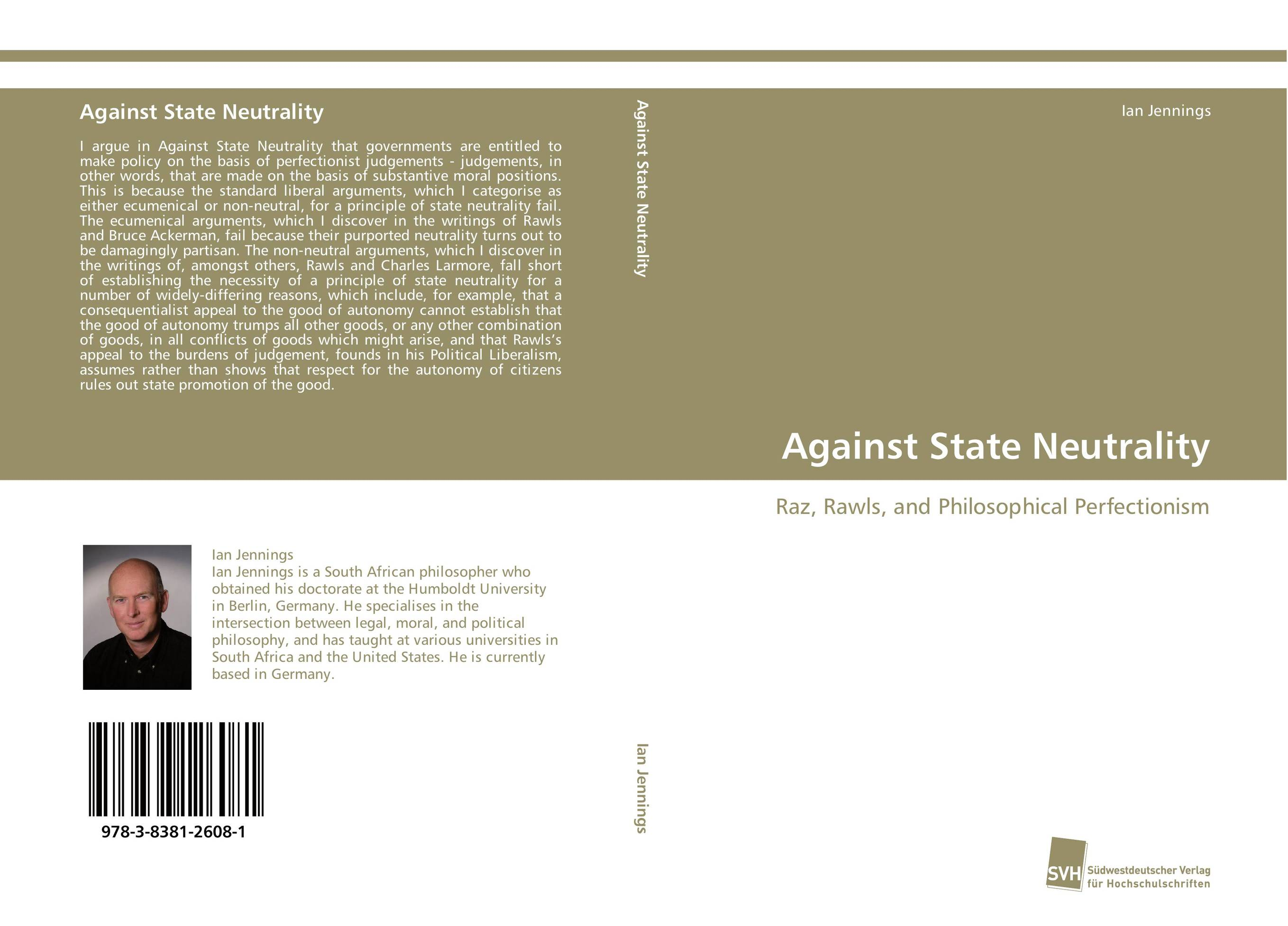 Against State Neutrality affair of state an