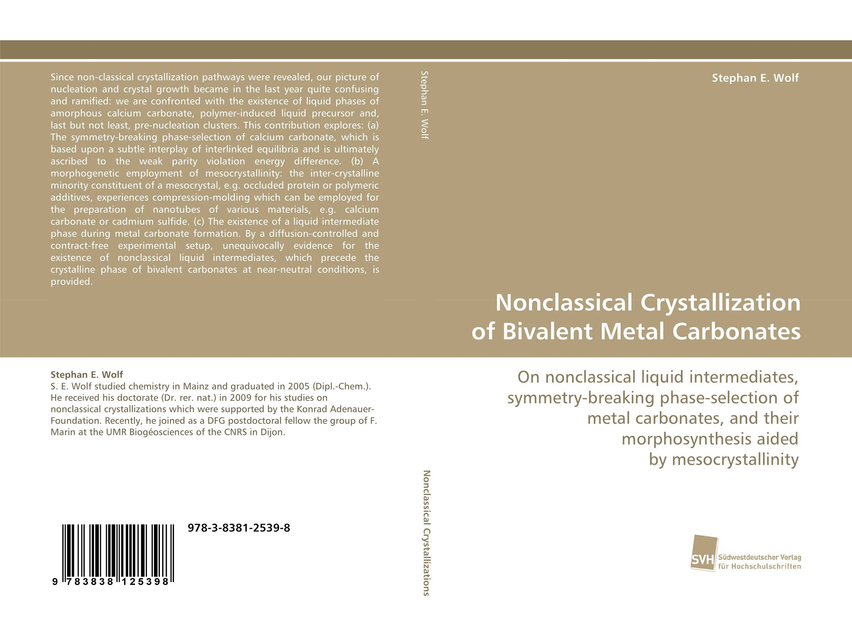Nonclassical Crystallization of Bivalent Metal Carbonates liquid calcium d3 carbonate with vitamin free shipping for body relaxation