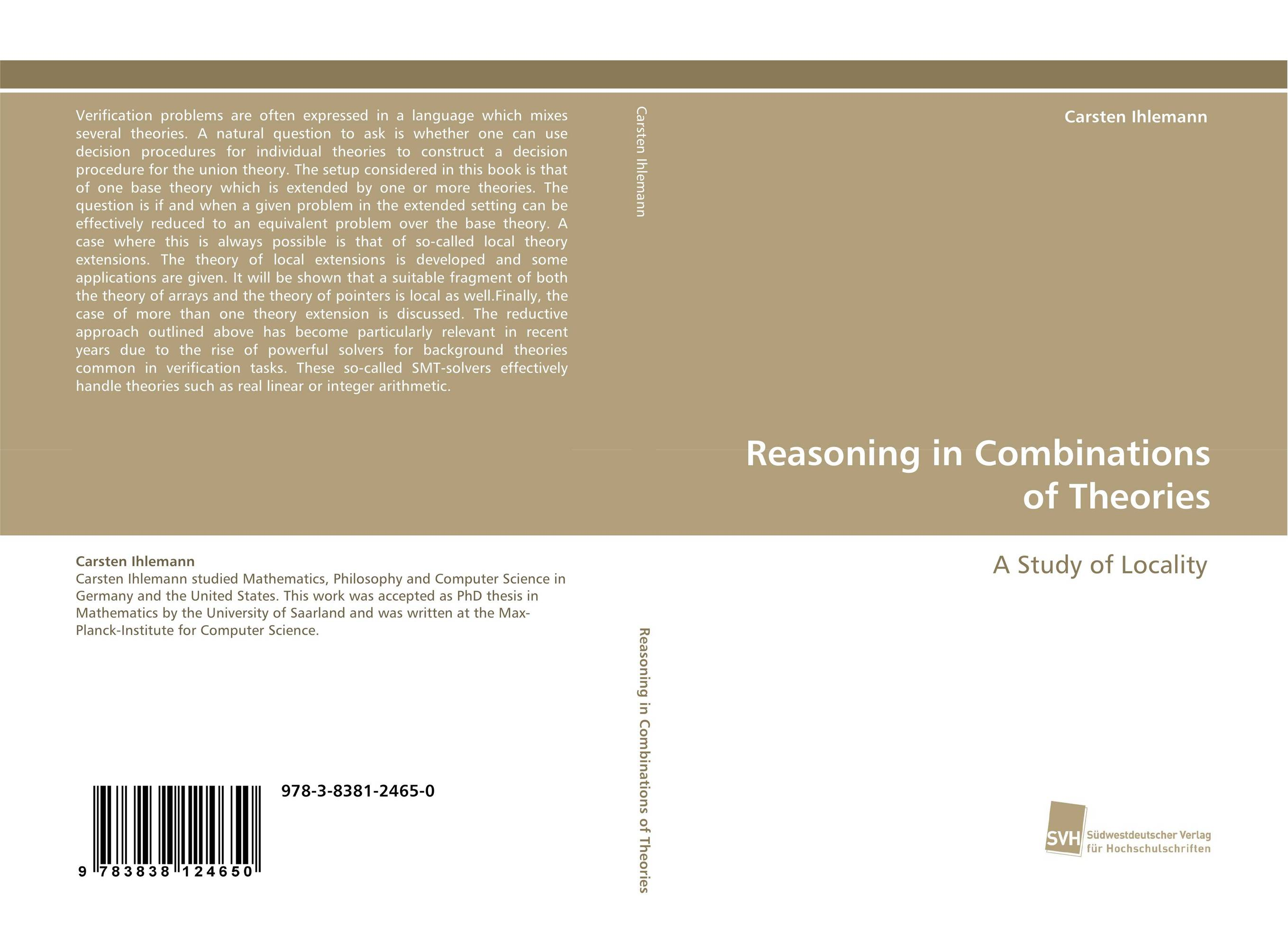 Reasoning in Combinations of Theories permutation orbifolds in conformal field theories and string theory