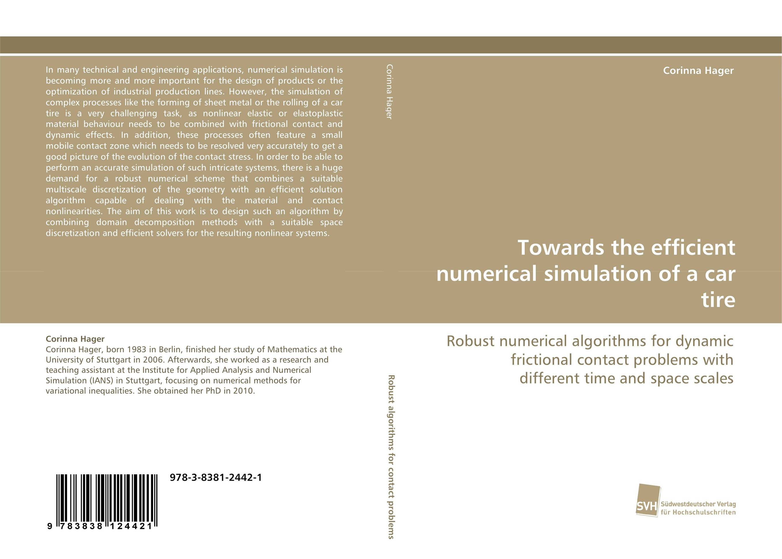 Towards the efficient numerical simulation of a car tire robert davis a demand driven inventory optimization and replenishment creating a more efficient supply chain