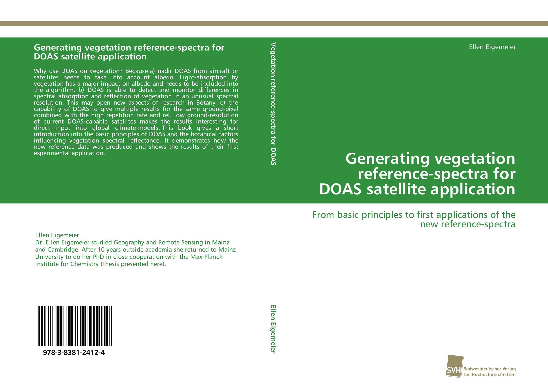 Generating vegetation reference-spectra for DOAS satellite application vegetation hong 30
