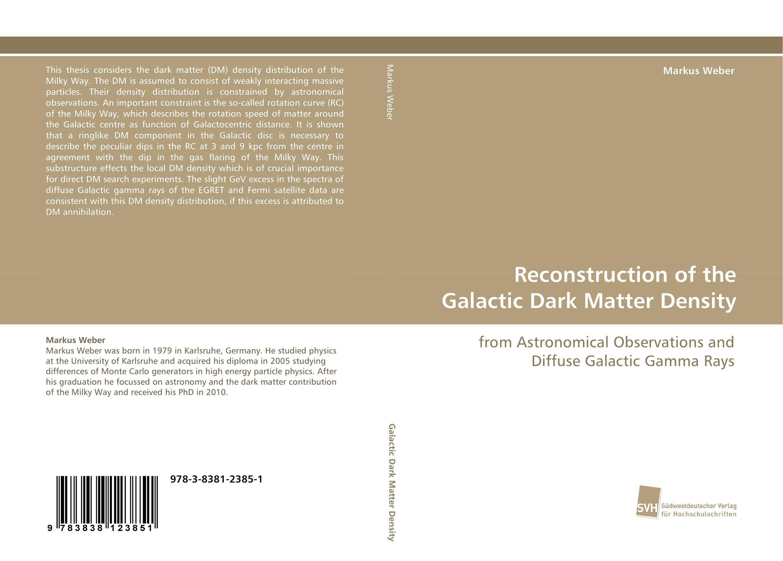 Reconstruction of the Galactic Dark Matter Density