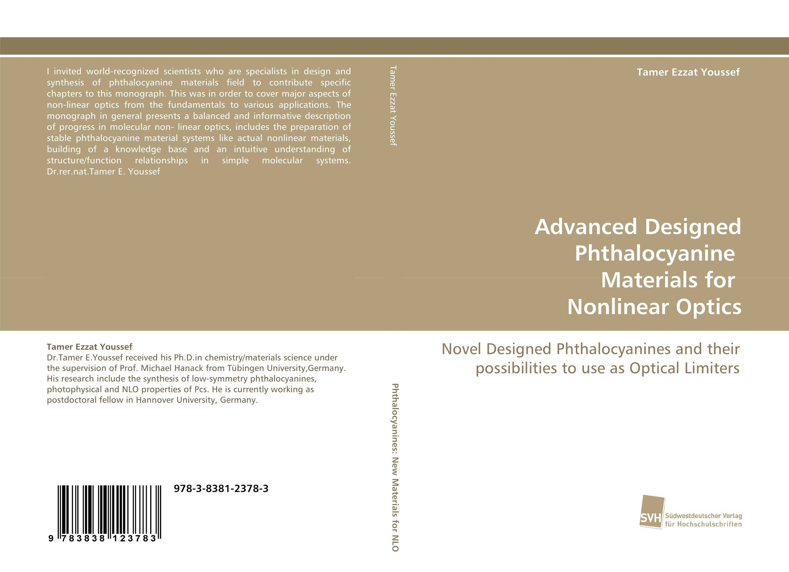 Advanced Designed Phthalocyanine Materials for Nonlinear Optics dennis hall g boronic acids preparation and applications in organic synthesis medicine and materials