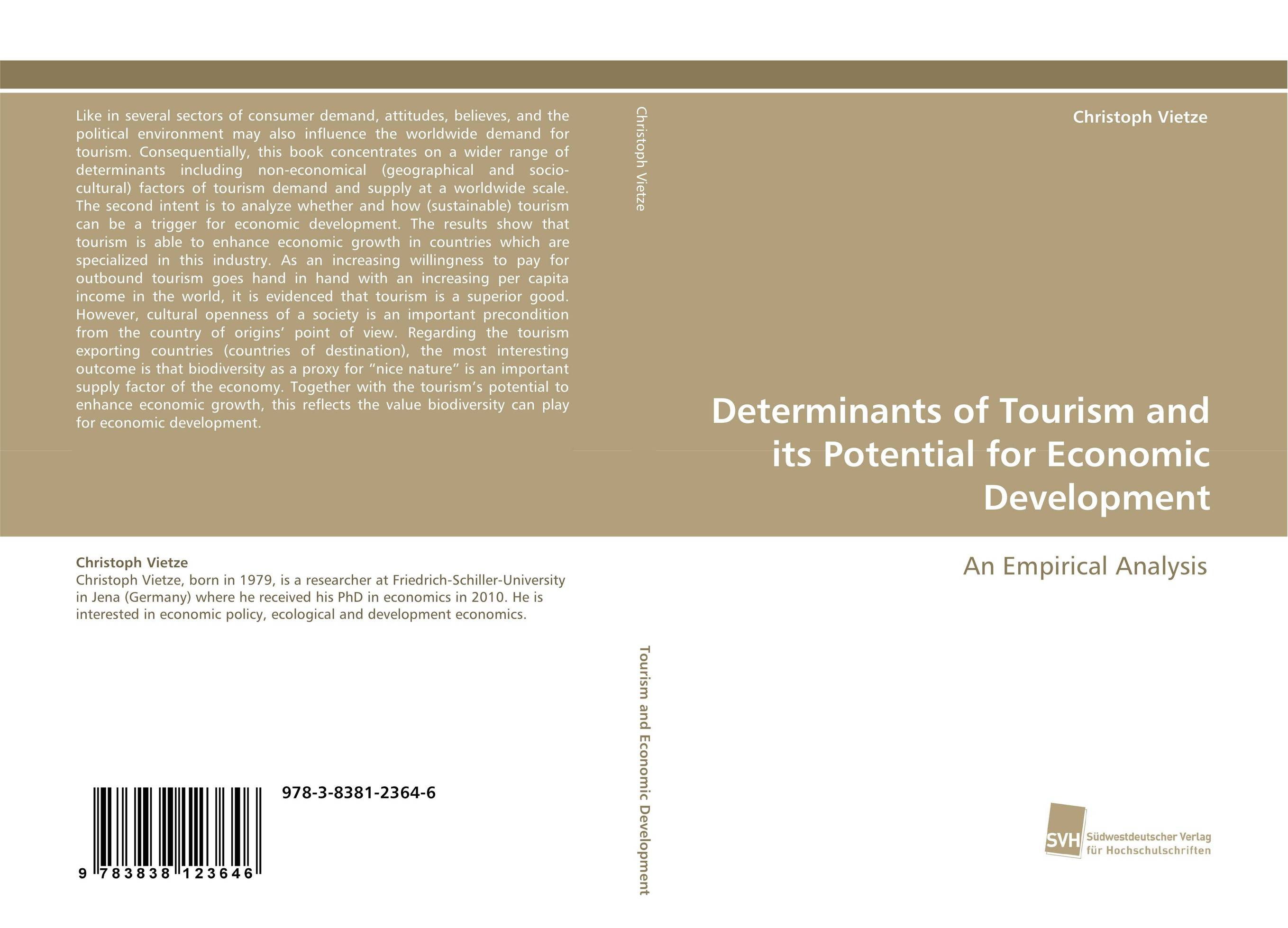 Фото Determinants of Tourism and its Potential for Economic Development business and ethics in a country with political socio economic crisis