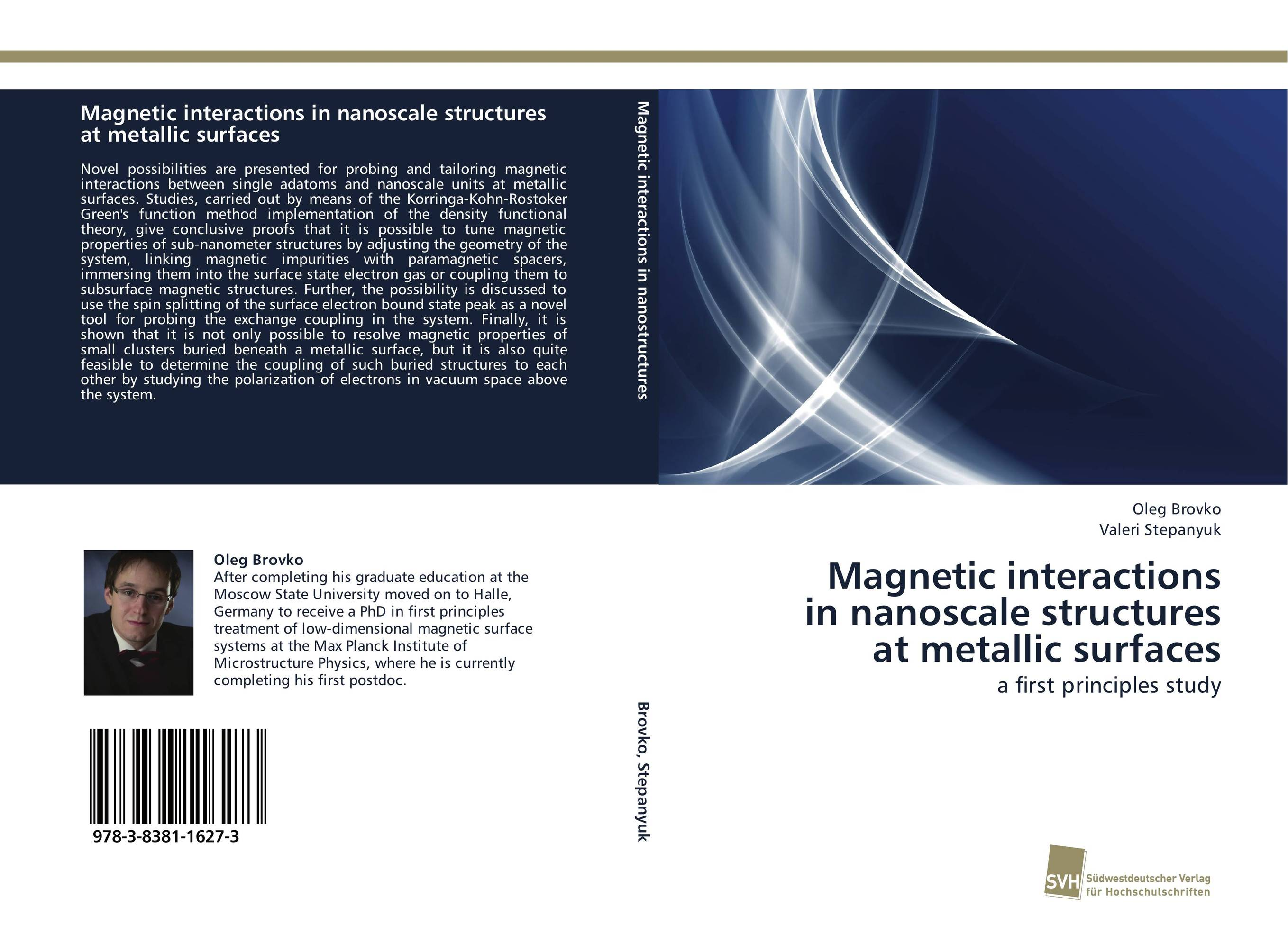 Magnetic interactions in nanoscale structures at metallic surfaces relativistic theory of electron transport in magnetic layers