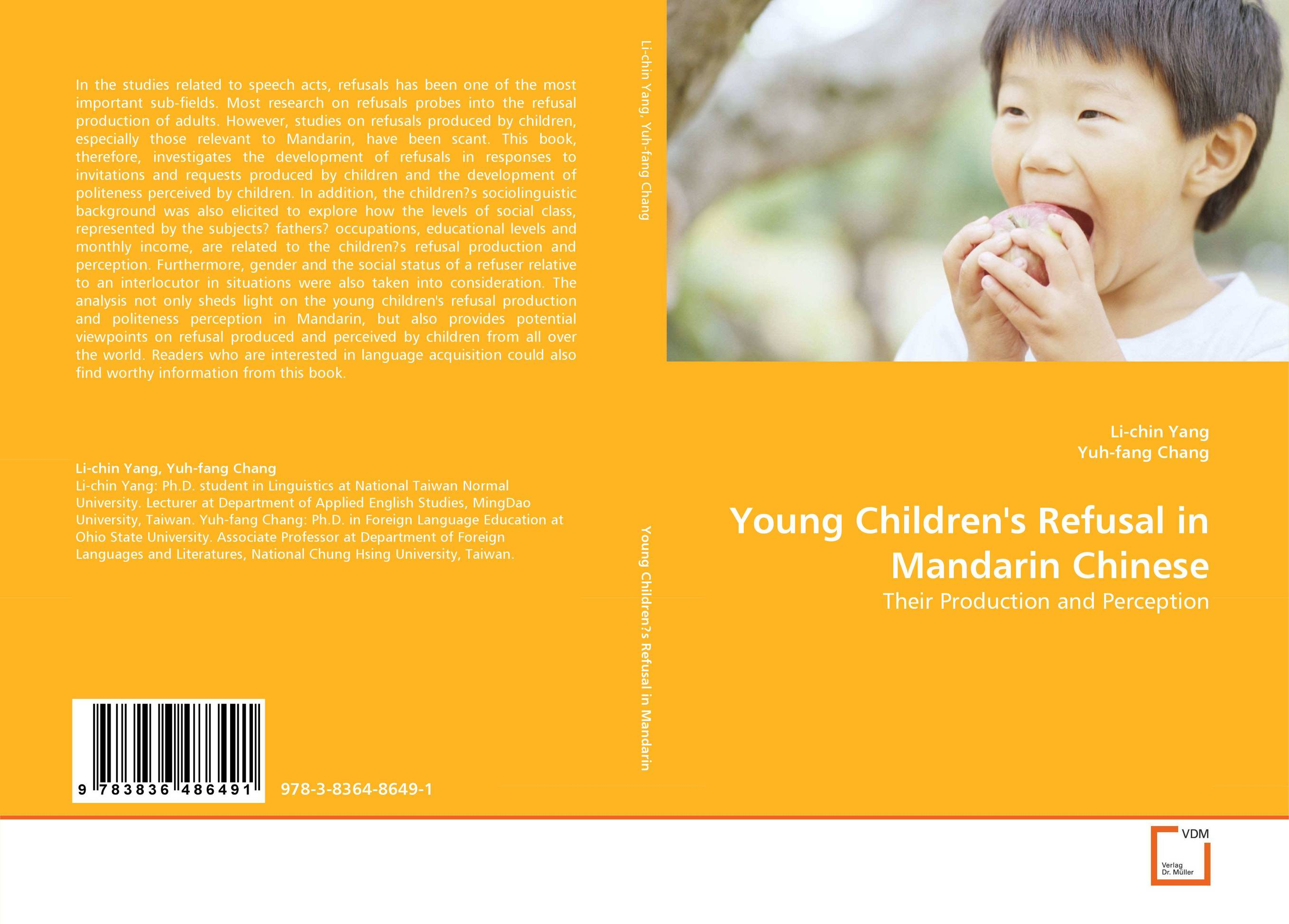 Young Children''s Refusal in Mandarin Chinese dickins r the children s book of art