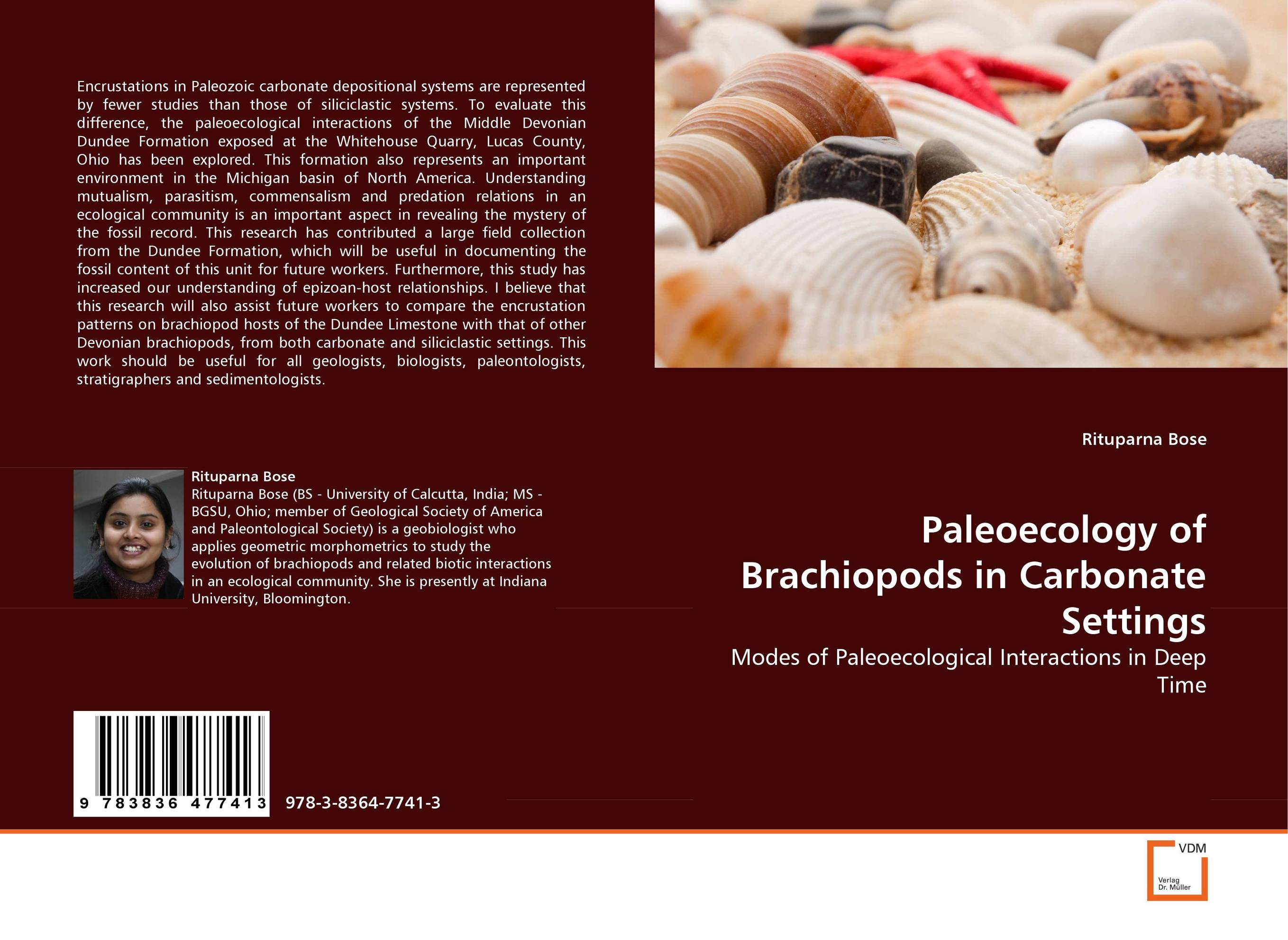 Paleoecology of Brachiopods in Carbonate Settings evolutionary ecology of extinct brachiopods