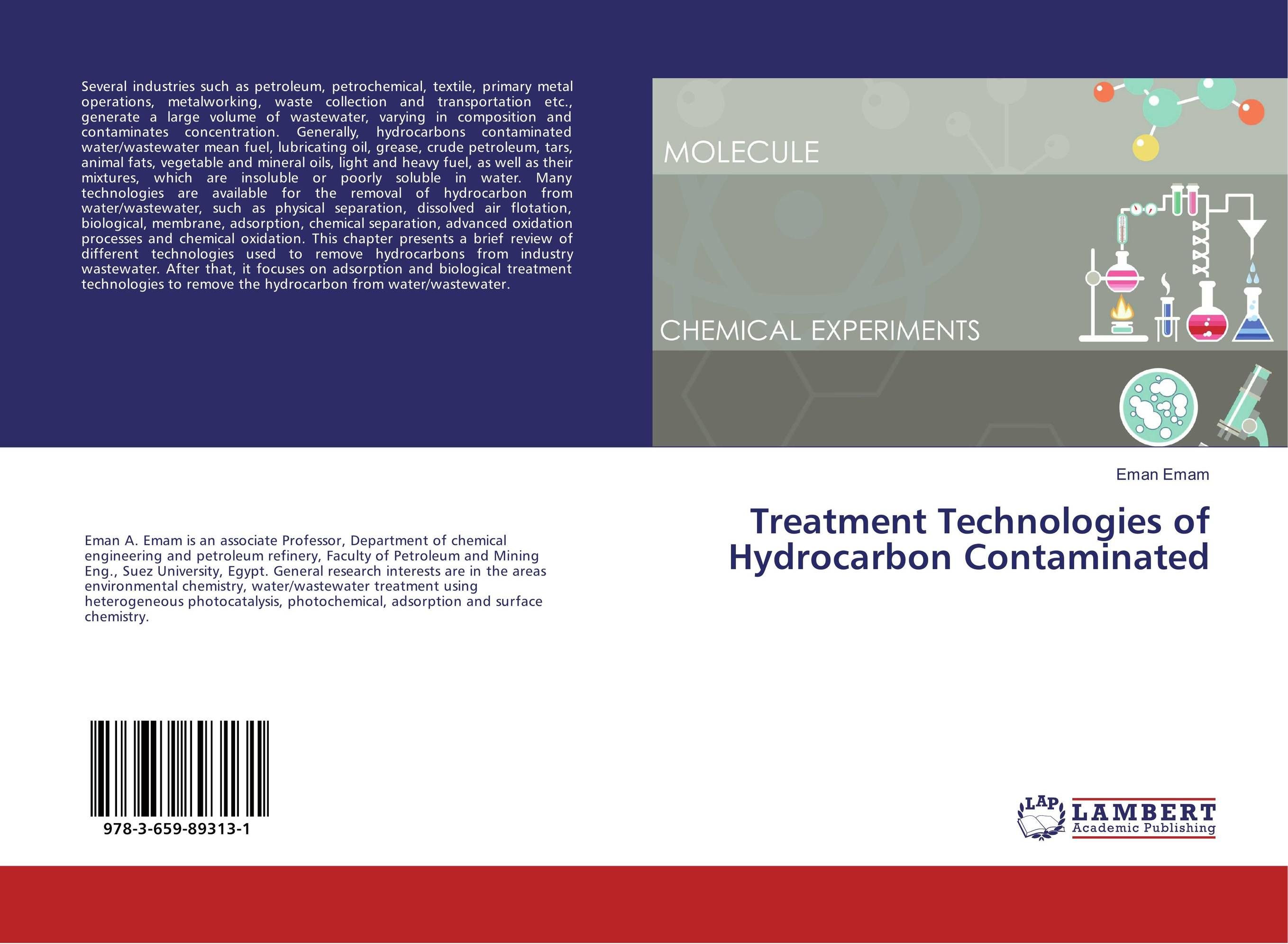 Treatment Technologies of Hydrocarbon Contaminated analysis of pharmaceuticals in wastewater and their photodegradation
