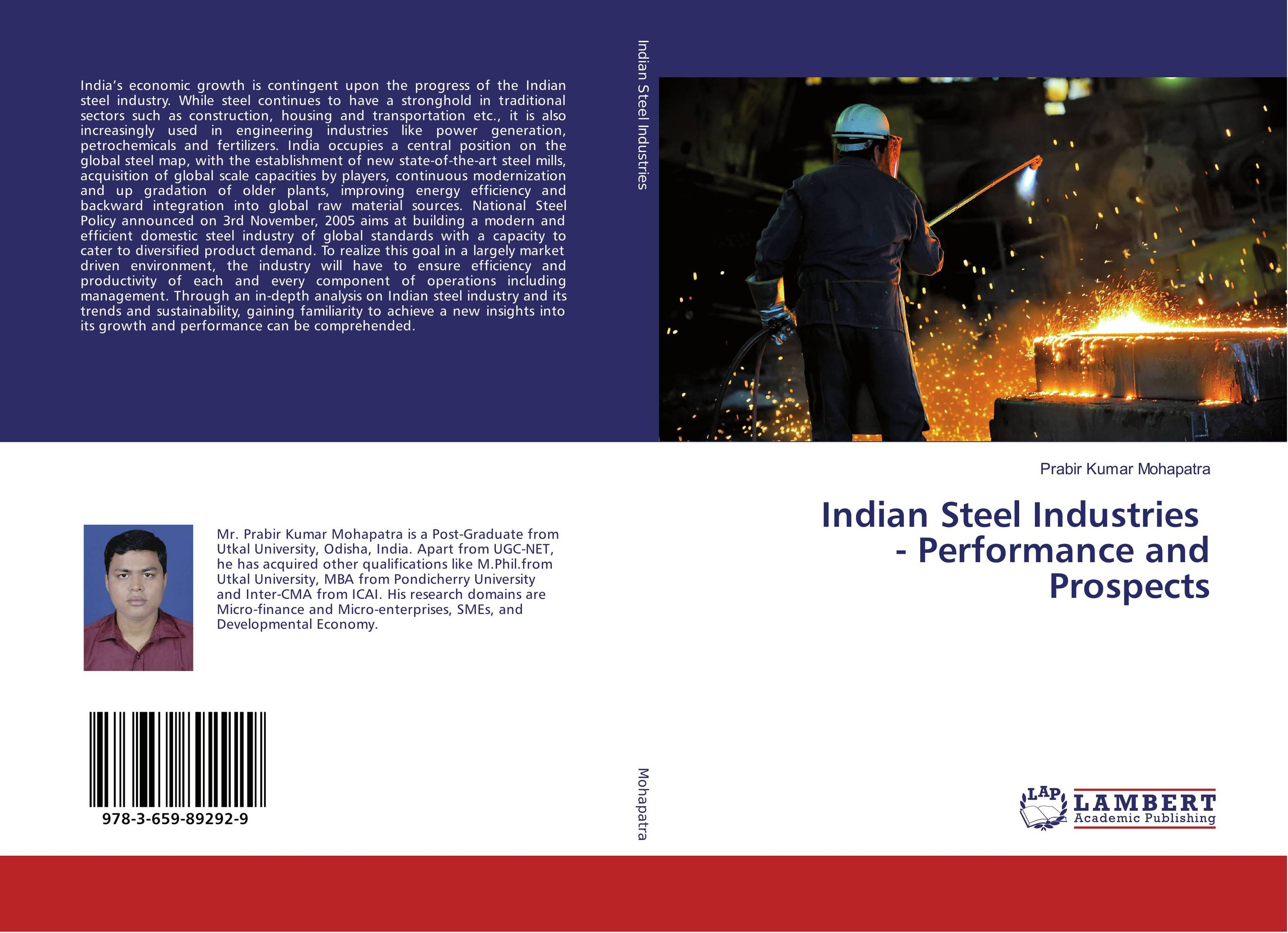 Indian Steel Industries - Performance and Prospects indian steel industries performance and prospects