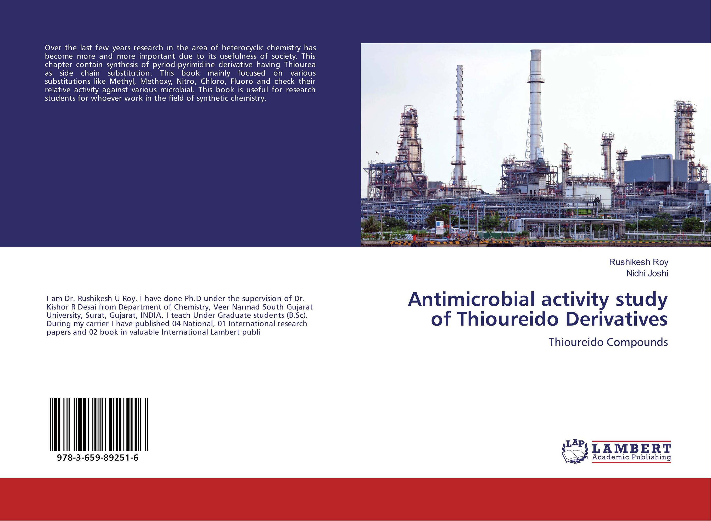 купить Antimicrobial activity study of Thioureido Derivatives недорого