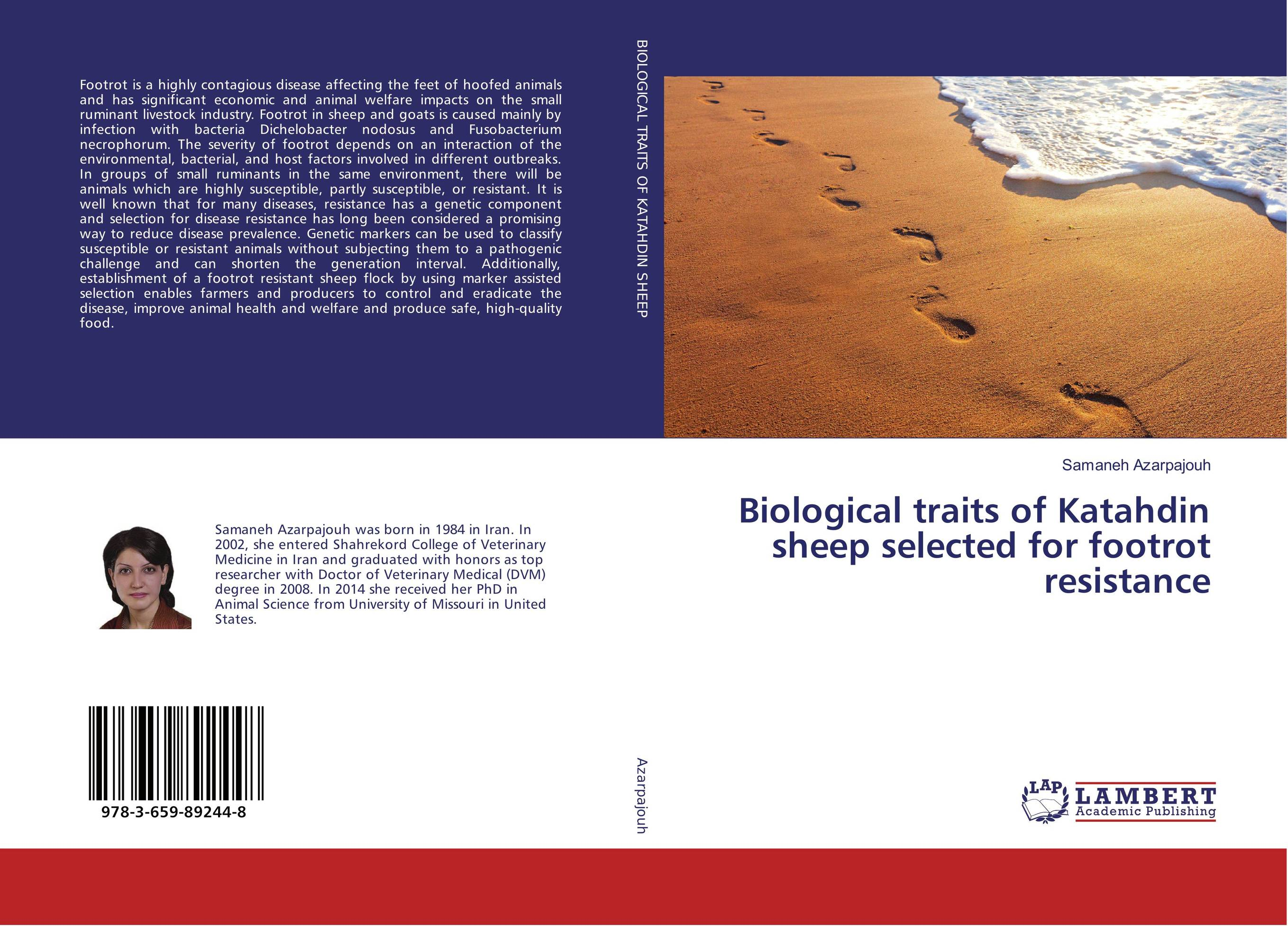 Biological traits of Katahdin sheep selected for footrot resistance lesions of skin of sheep and goats due to external parasites